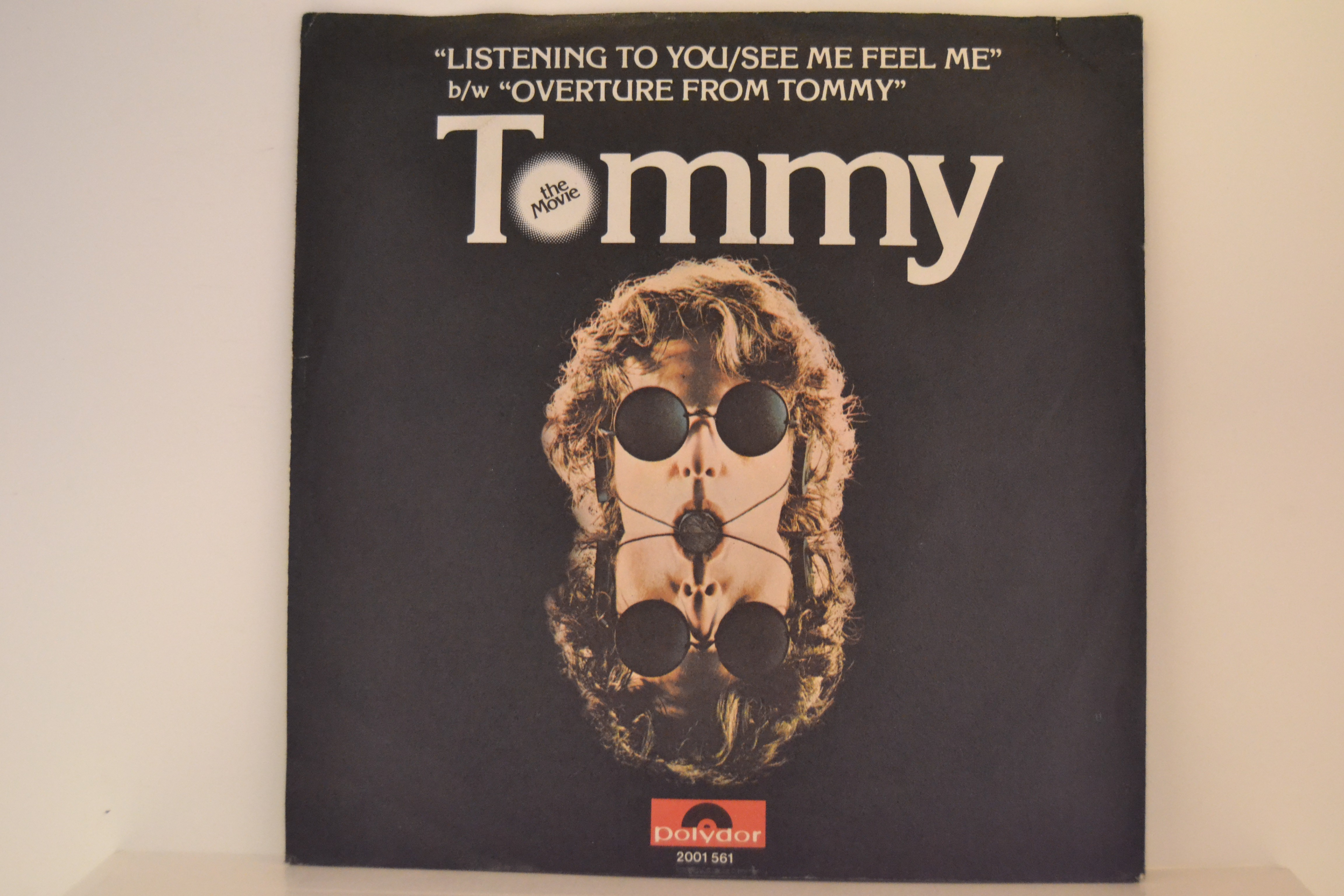WHO The   : ROGER DALTREY : Listening to you /See me, feel me /  PETE TOWNSHEND : Overture from Tommy