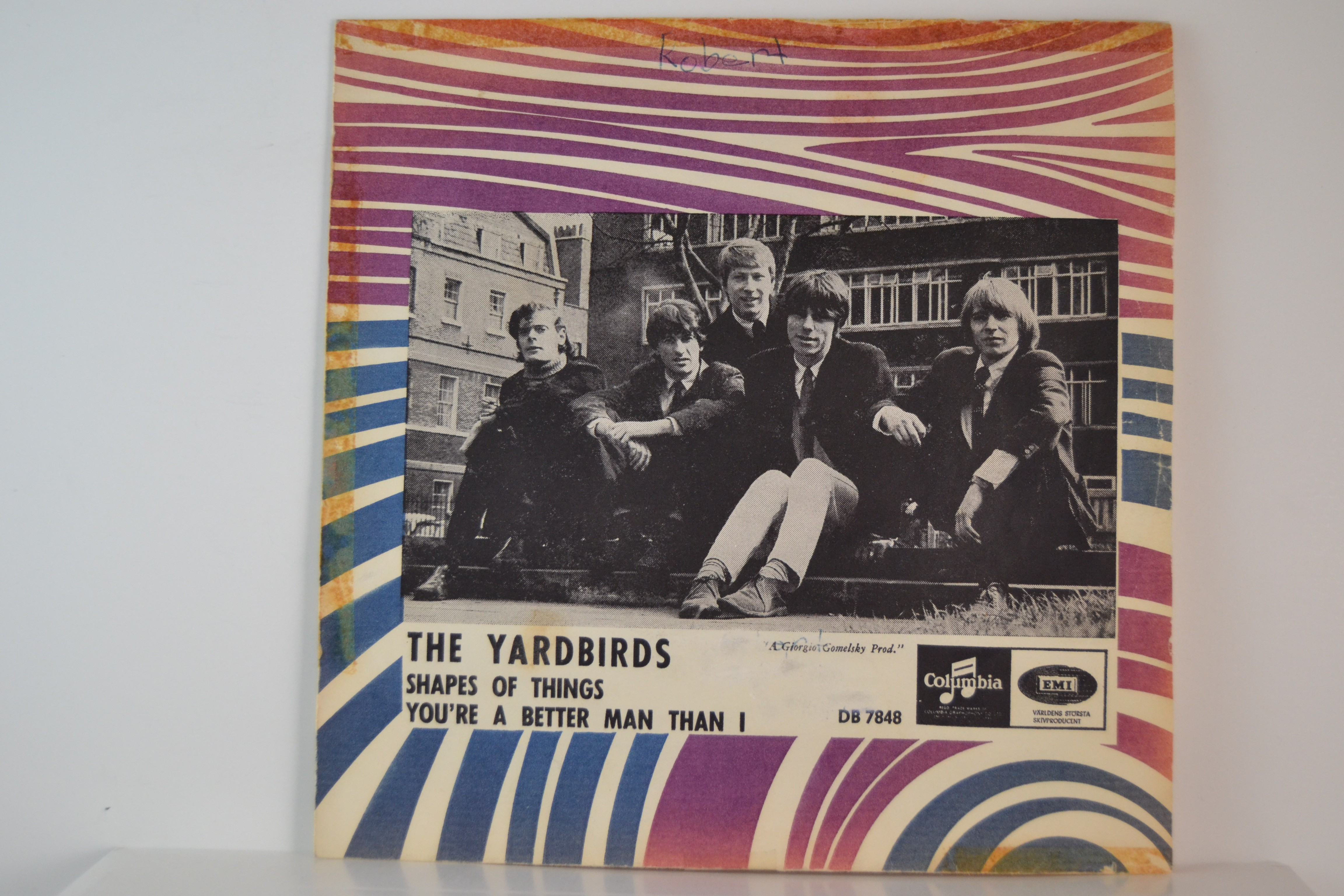 YARDBIRDS : Shapes of things / You're a better man than I