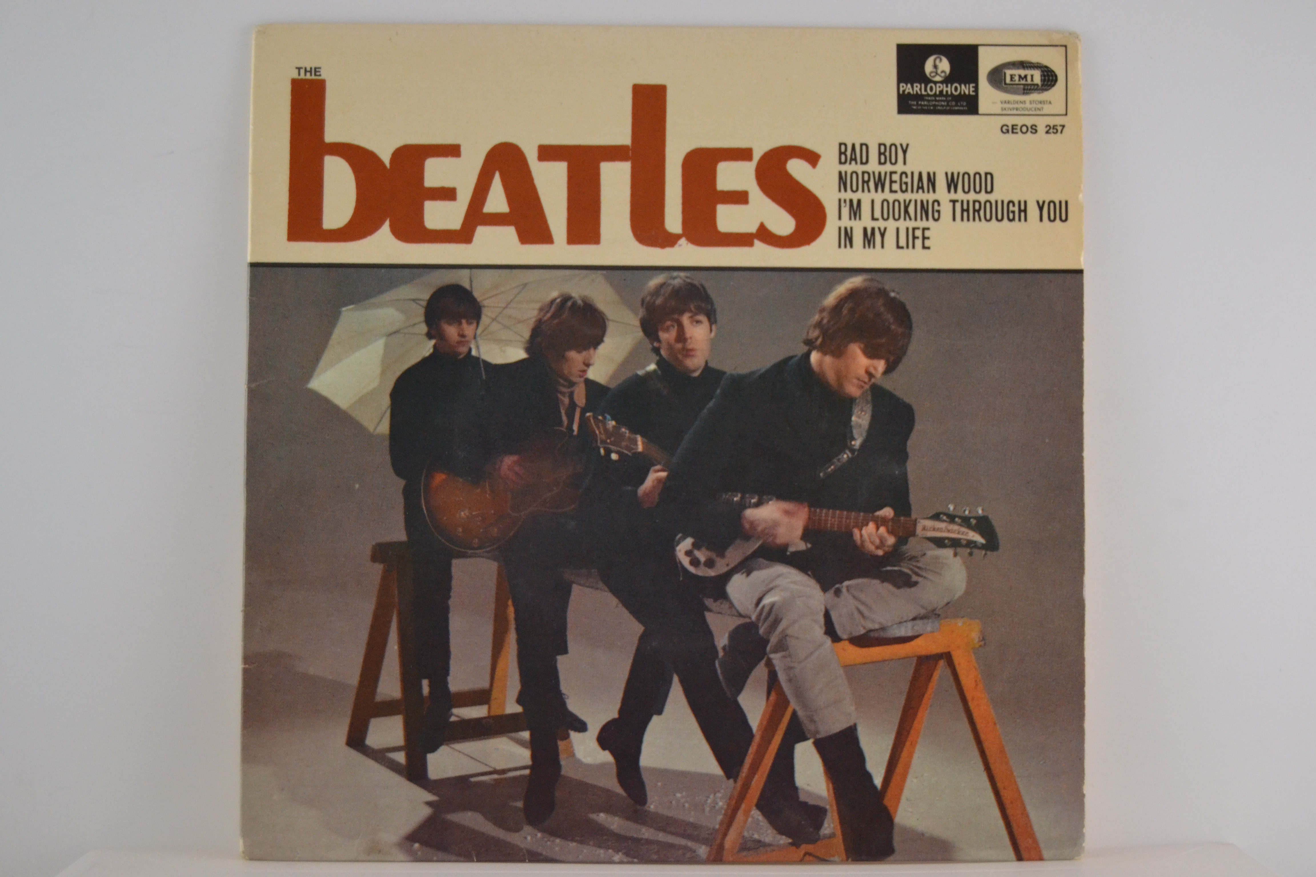 BEATLES The : (EP) Bad boy / Norwegian wood / I'm looking through you / In my life