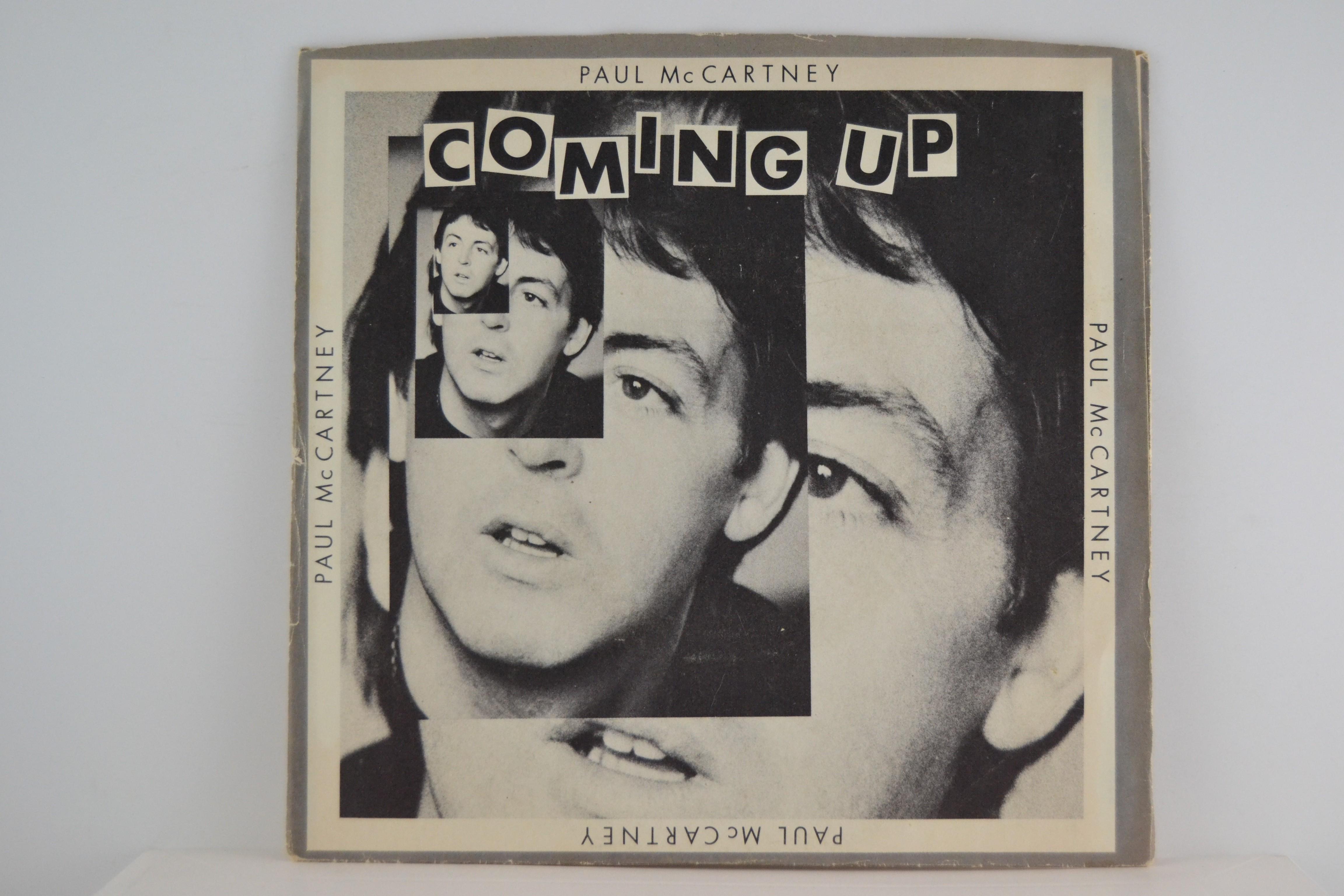 PAUL McCARTNEY : Coming up / -same (live) / Lunch box/Odd sox
