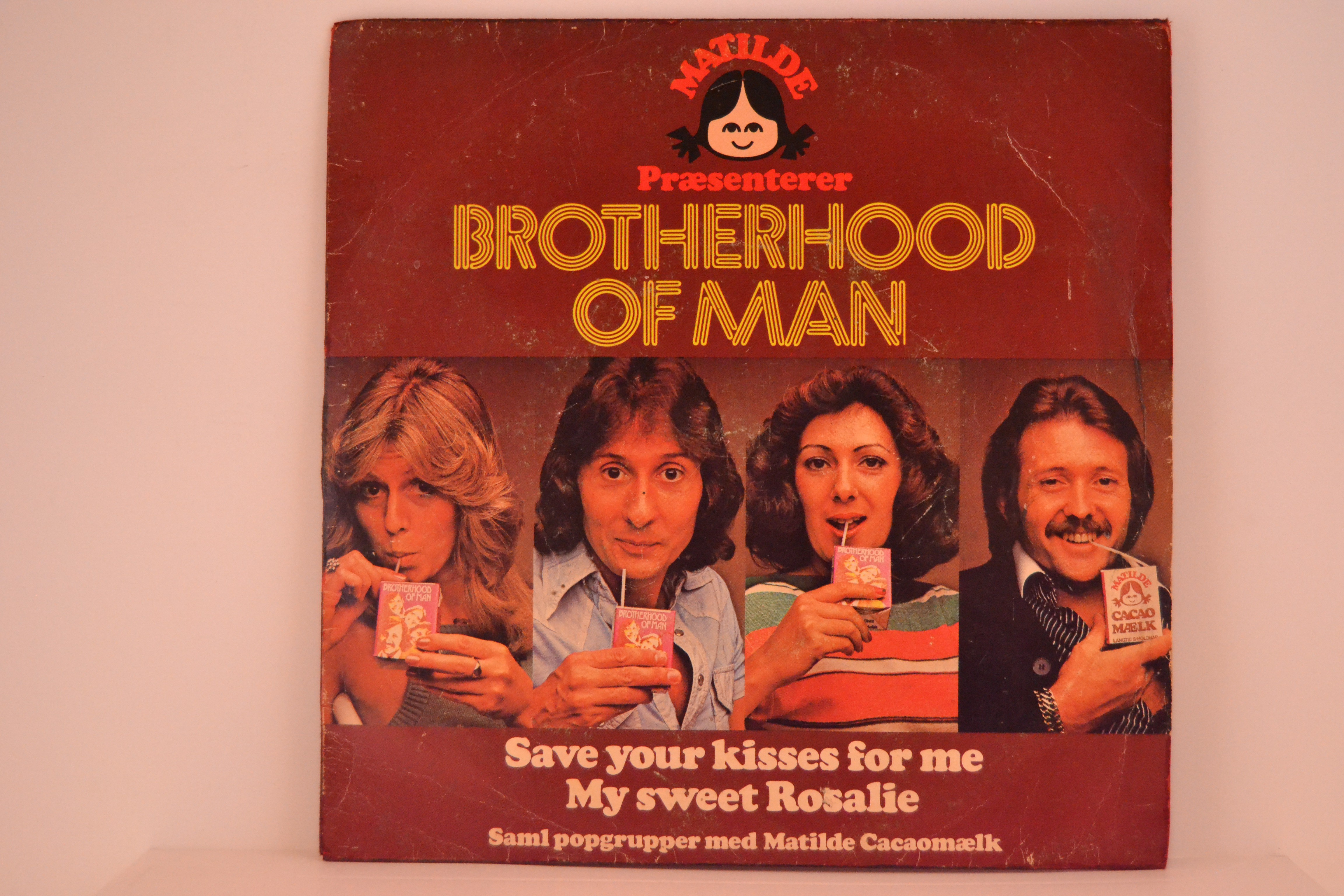 BROTHERHOOD OF MAN : Save all your kisses for me / My sweet Rosalie