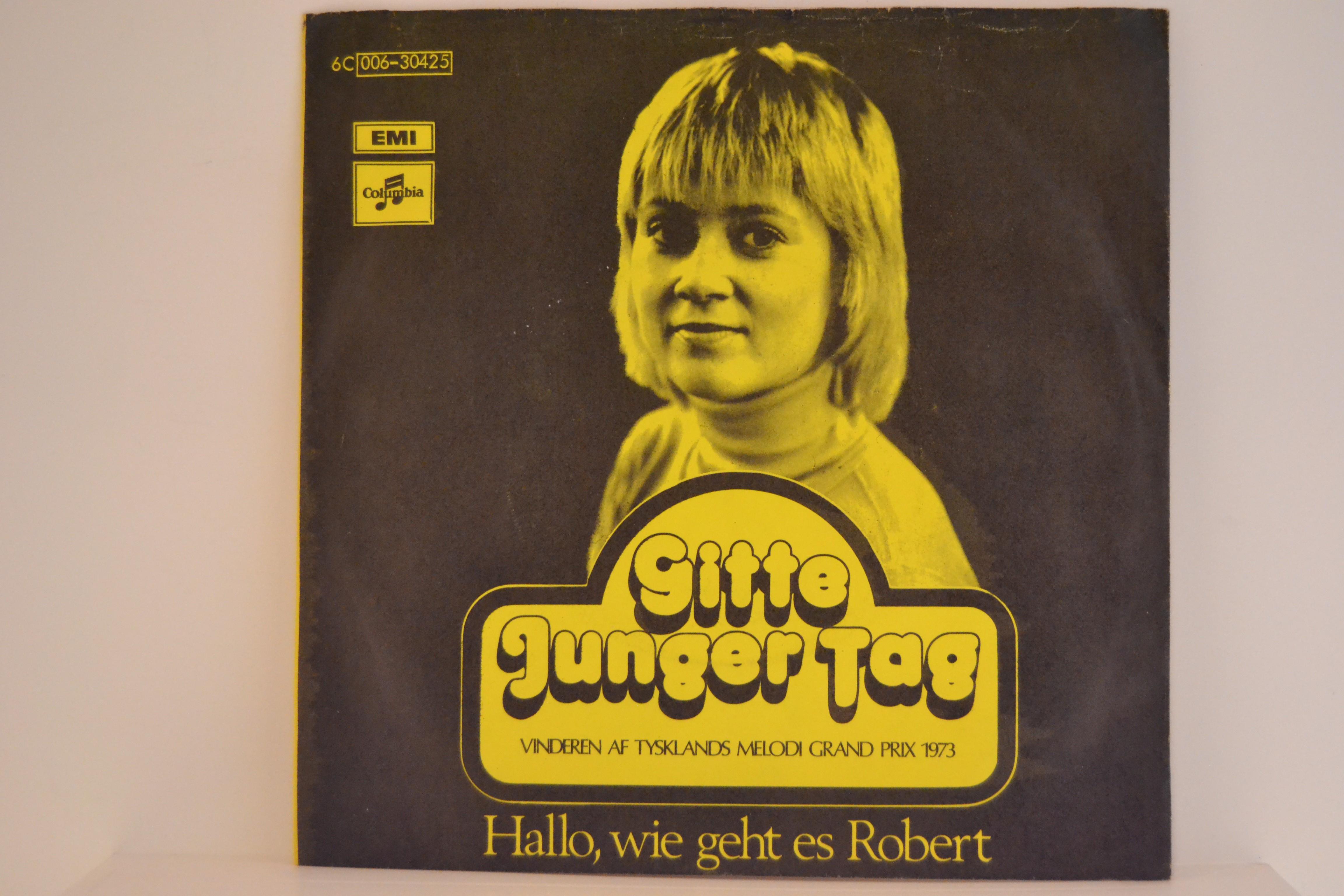 GITTE HENNING : Junger tag / Hallo, wie geht es Robert