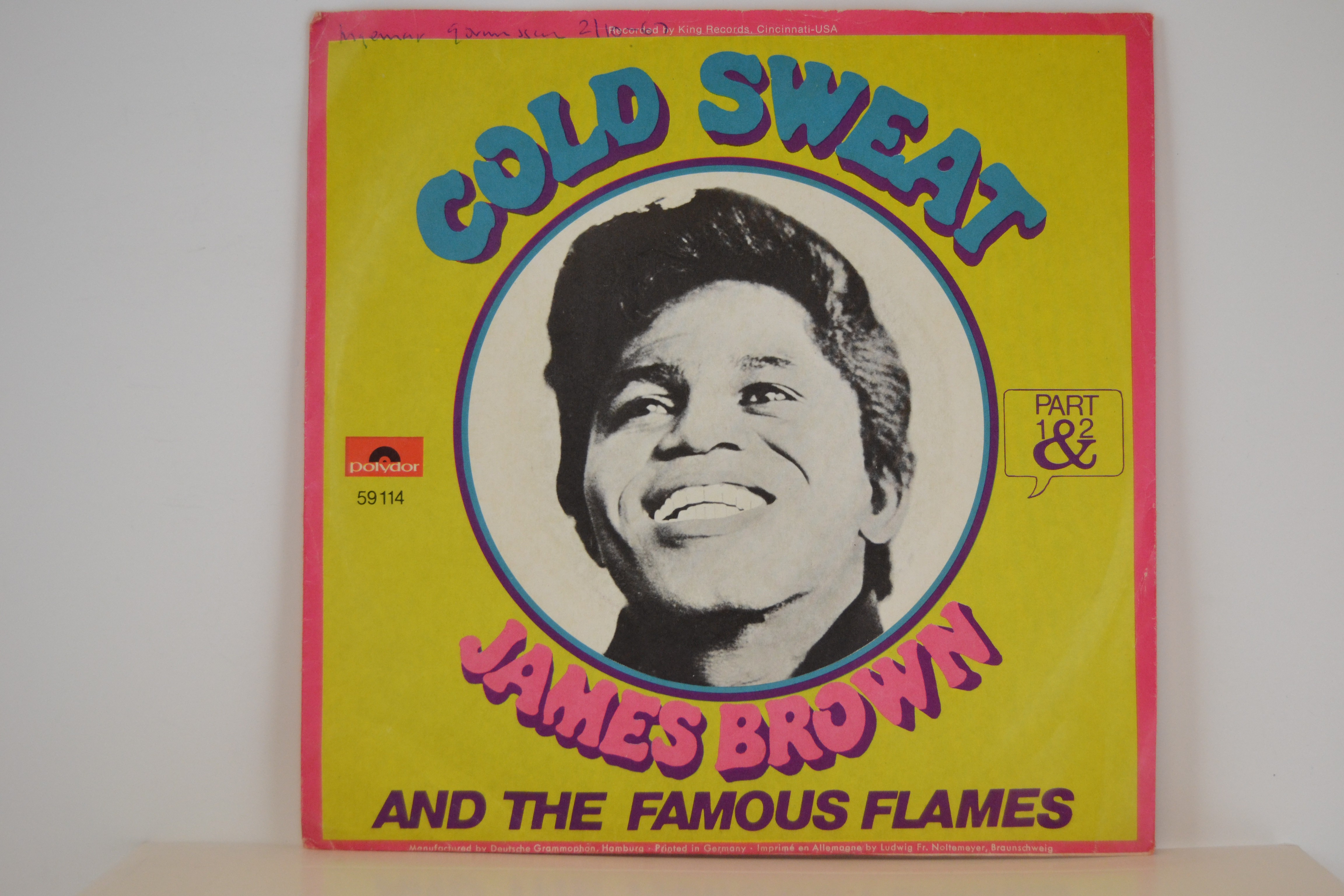 JAMES BROWN : Cold sweat (Part 1) / Cold sweat (Part 2)