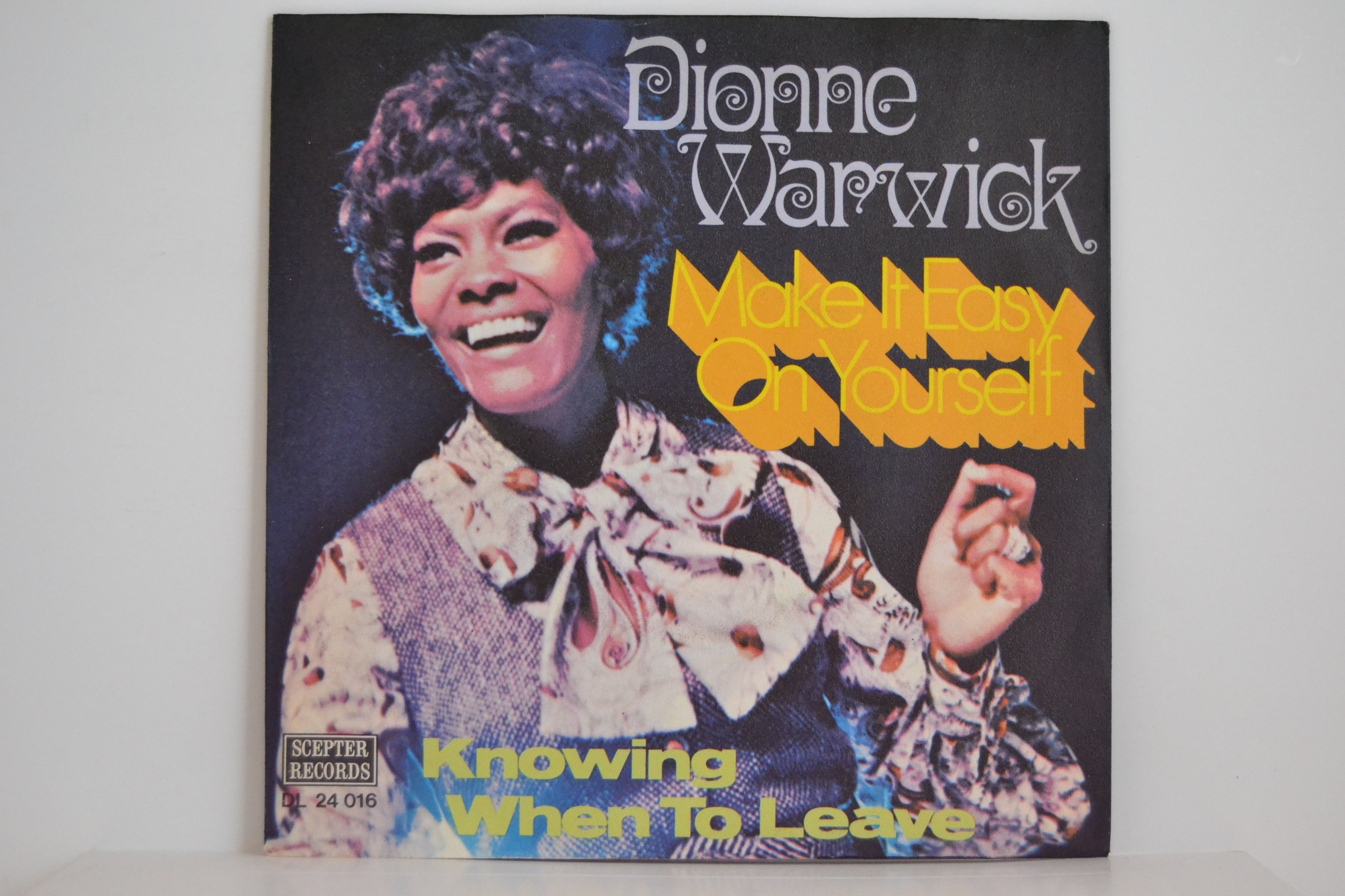 DIONNE WARWICK : Make it easy on yourself / Knowing when to leave