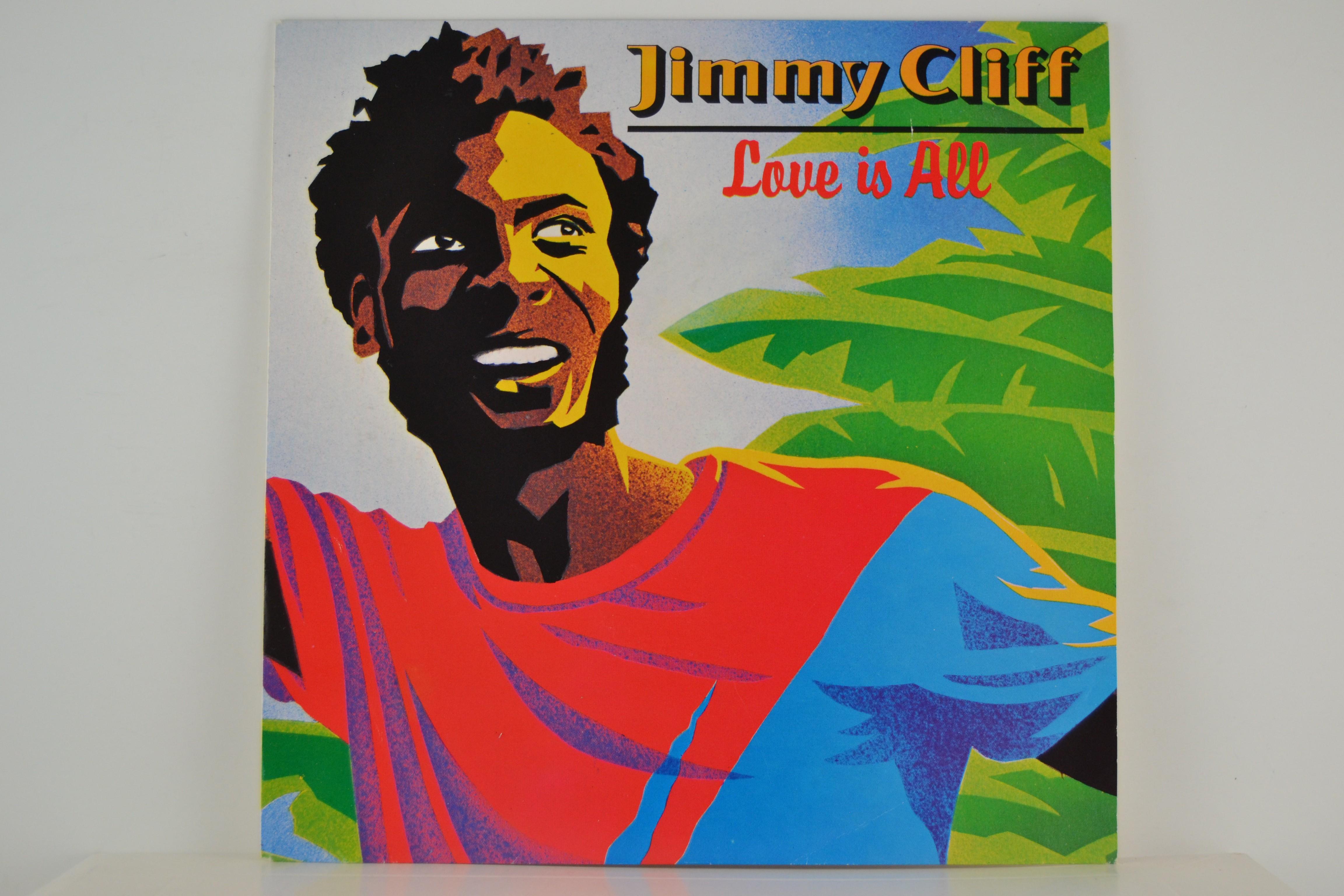 JIMMY CLIFF : Love is all / Rub-a-dub partner