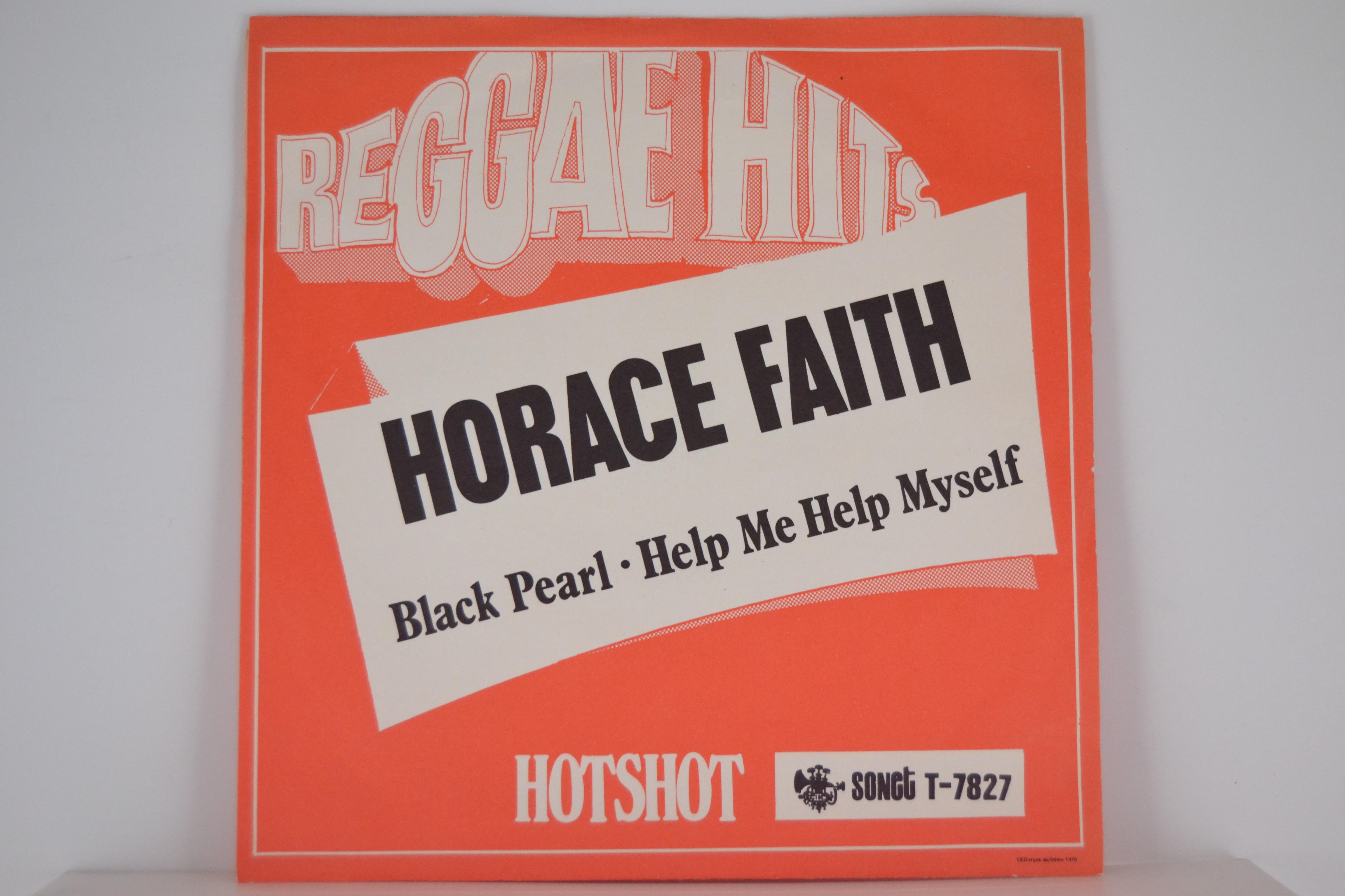 HORACE FAITH : Black pearl / Help me help myself