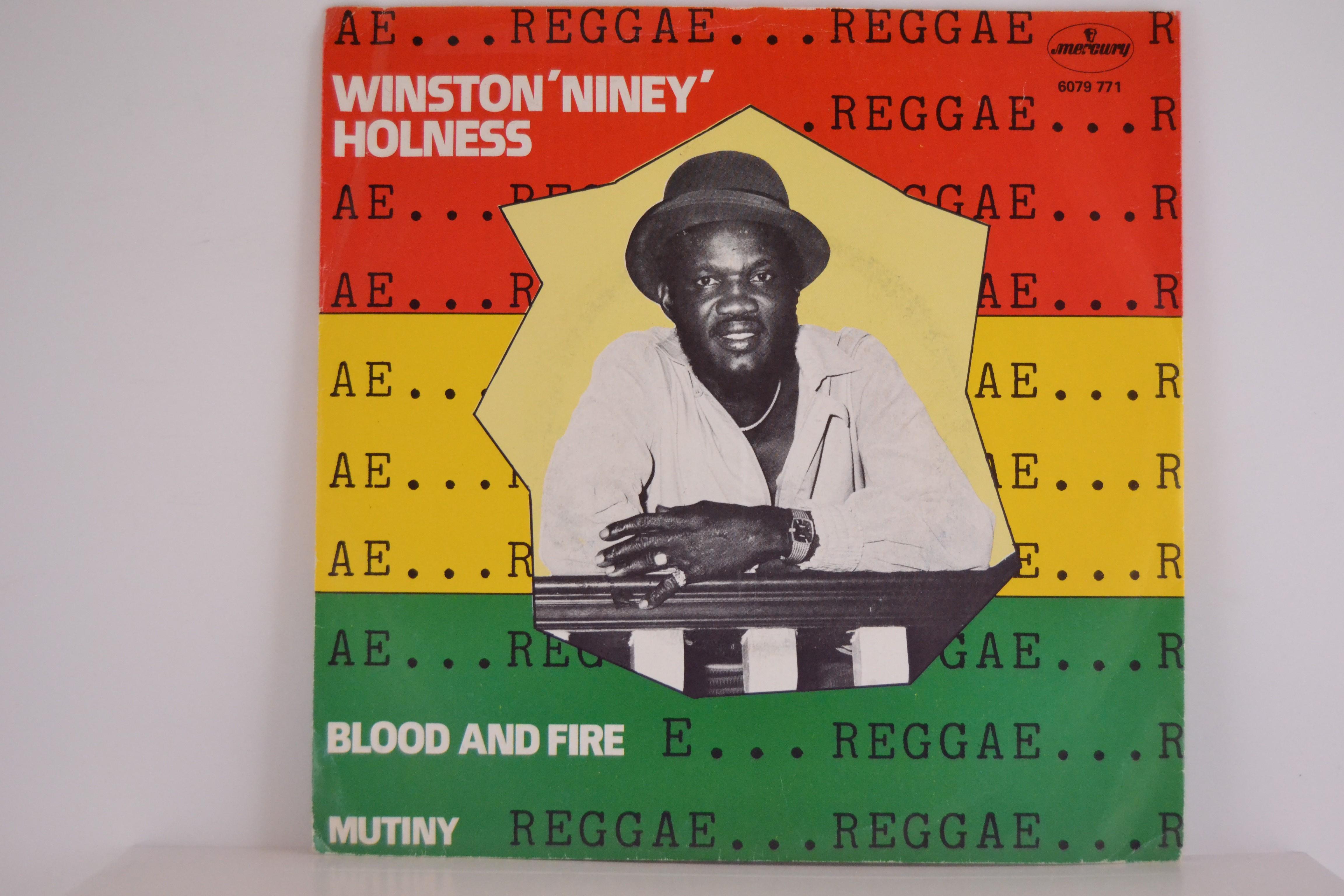 "WINSTON ""NINEY"" HOLNESS : Blood and fire / Mutiny"