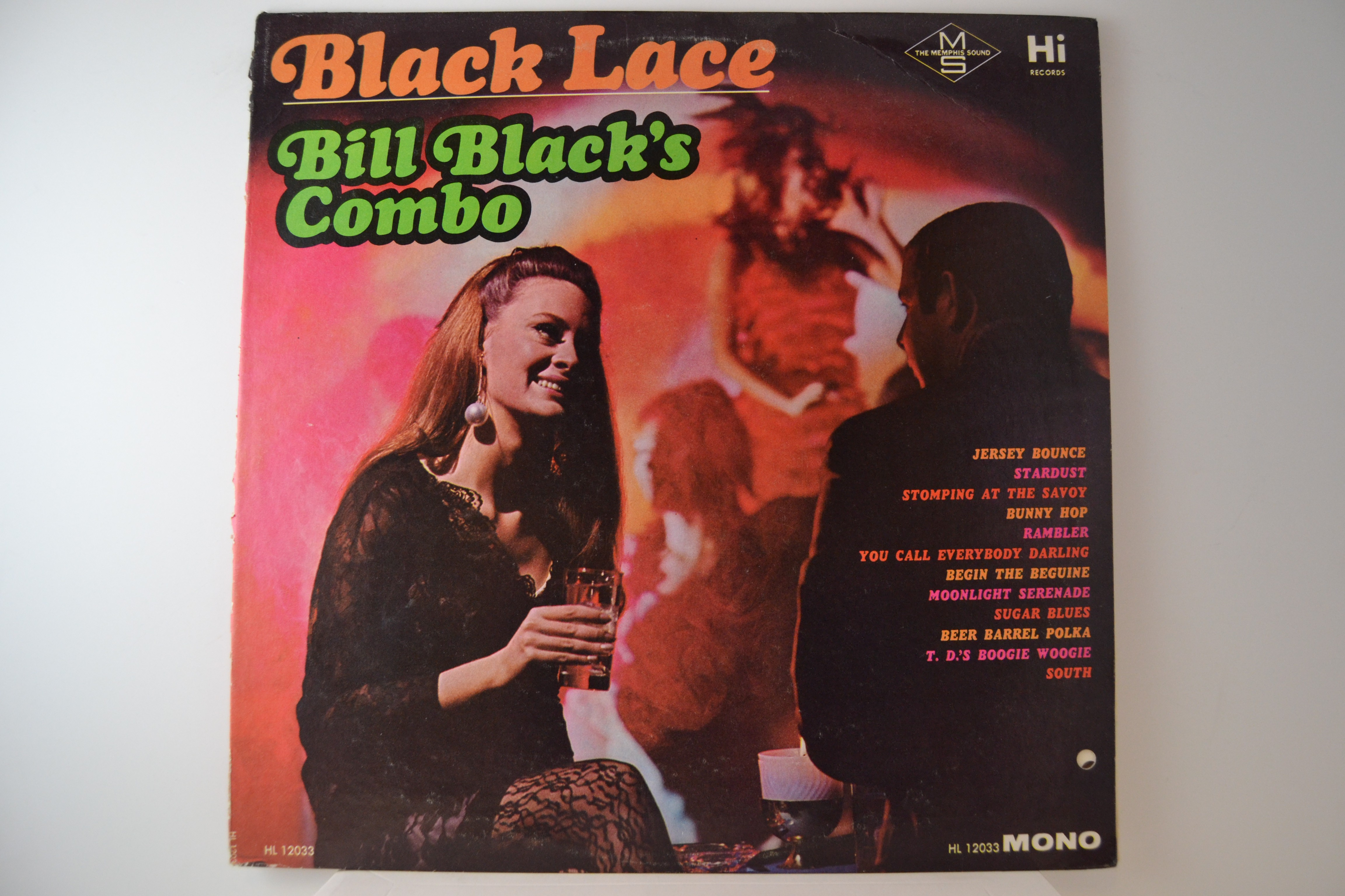 "BILL BLACK : ""Black lace"""