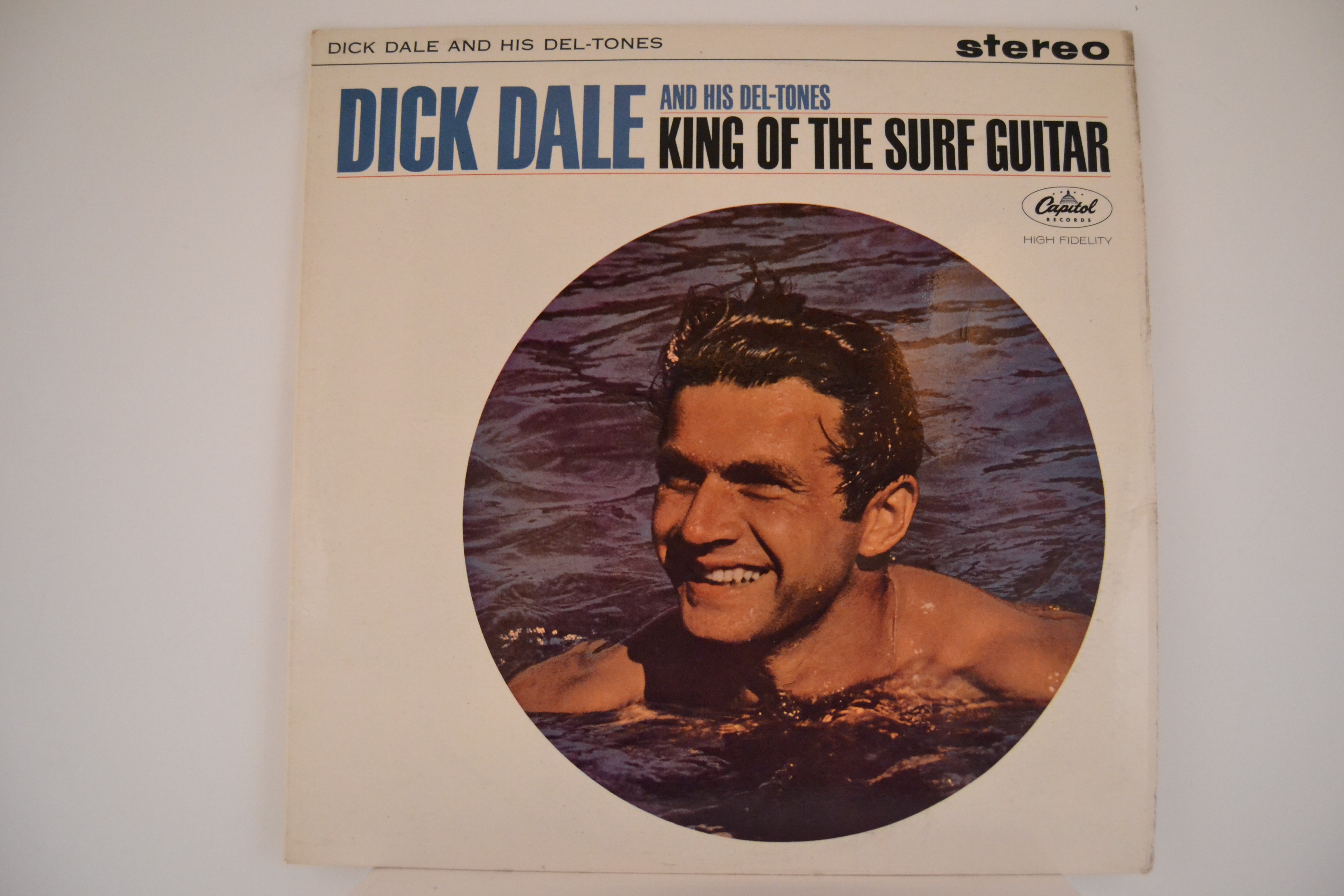 """DICK DALE & HIS DEL-TONES  """"King of the surf guitar"""""""
