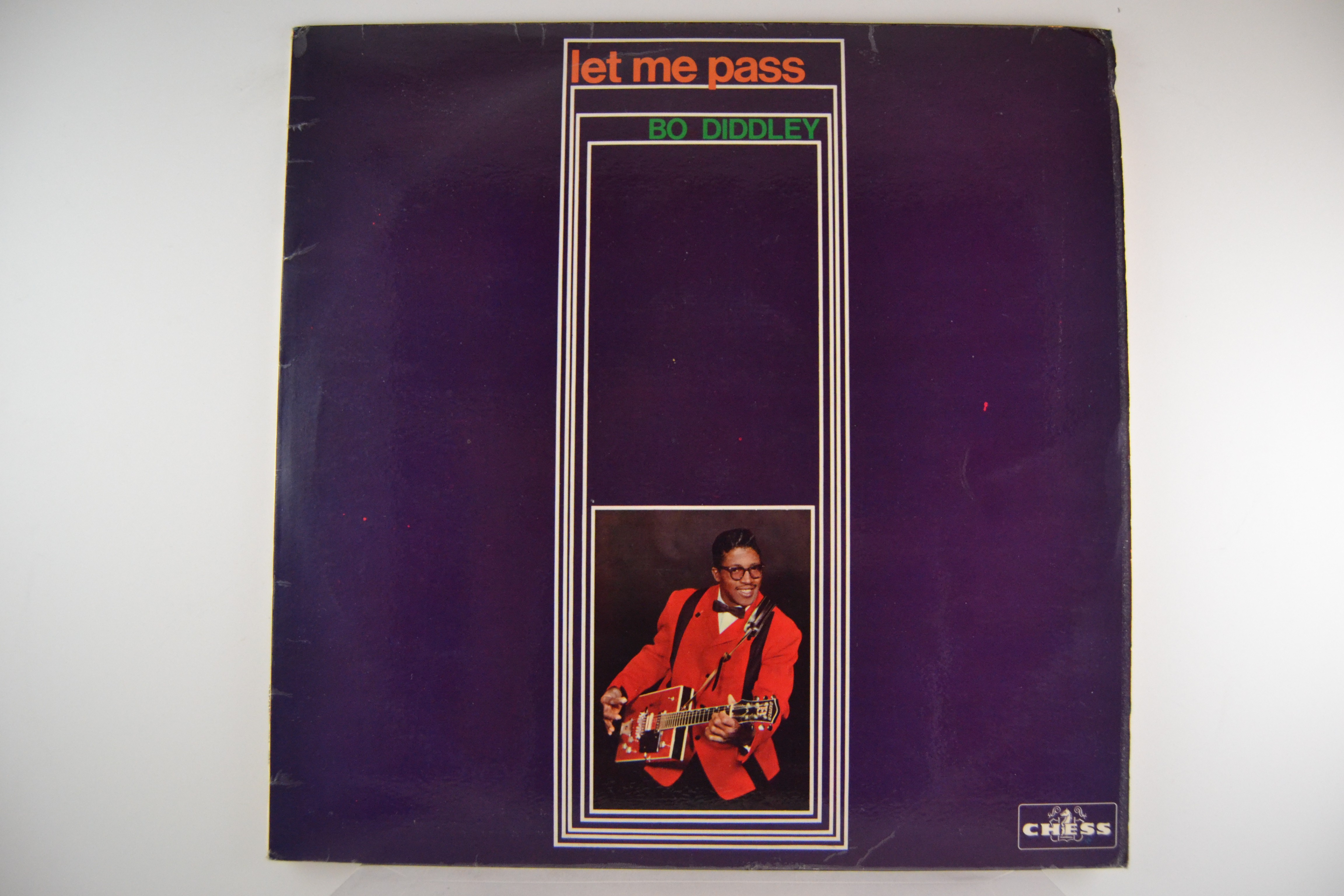 "BO DIDDLEY : ""Let me pass"""