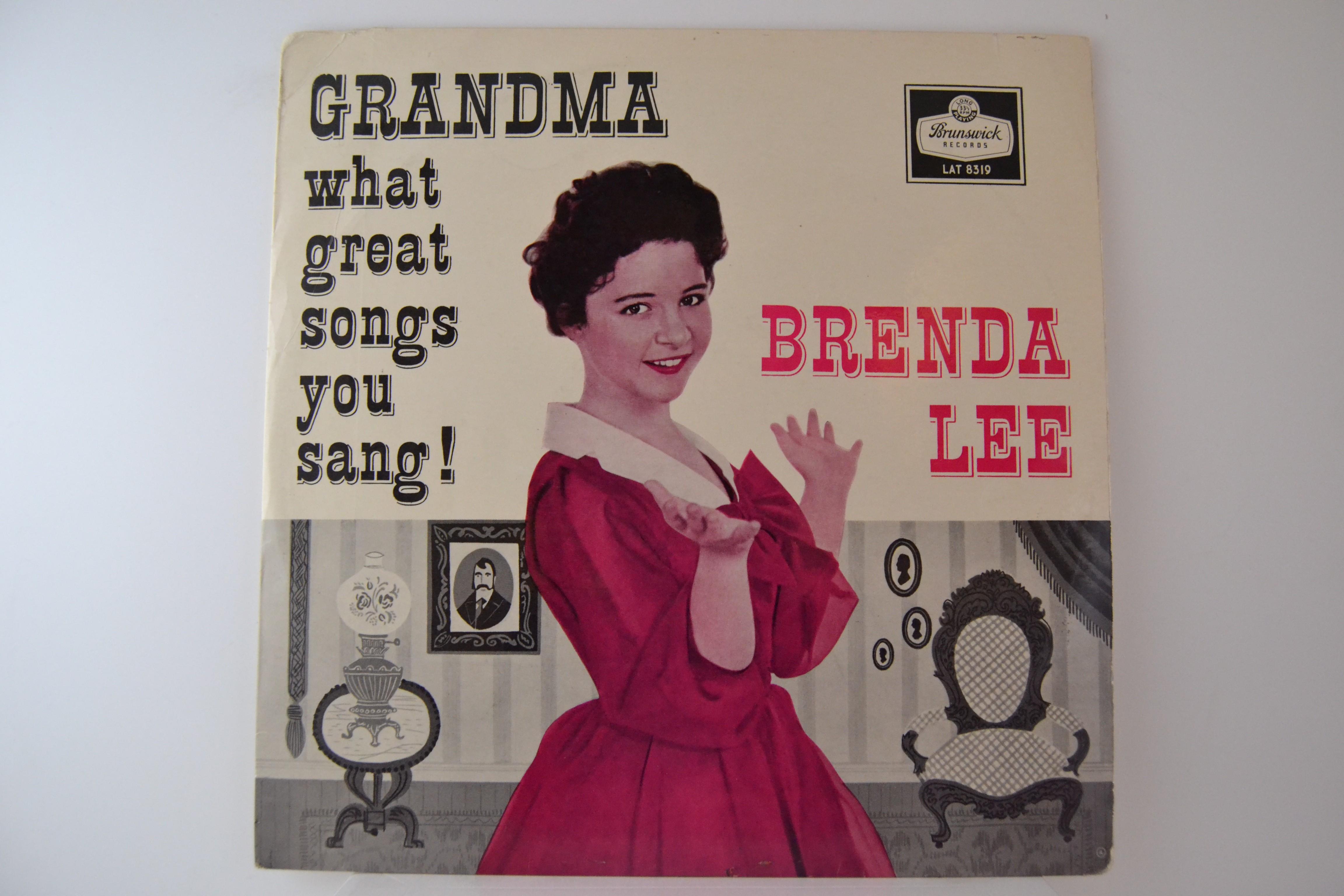 """BRENDA LEE : """"Grandma what great songs you sang!"""""""