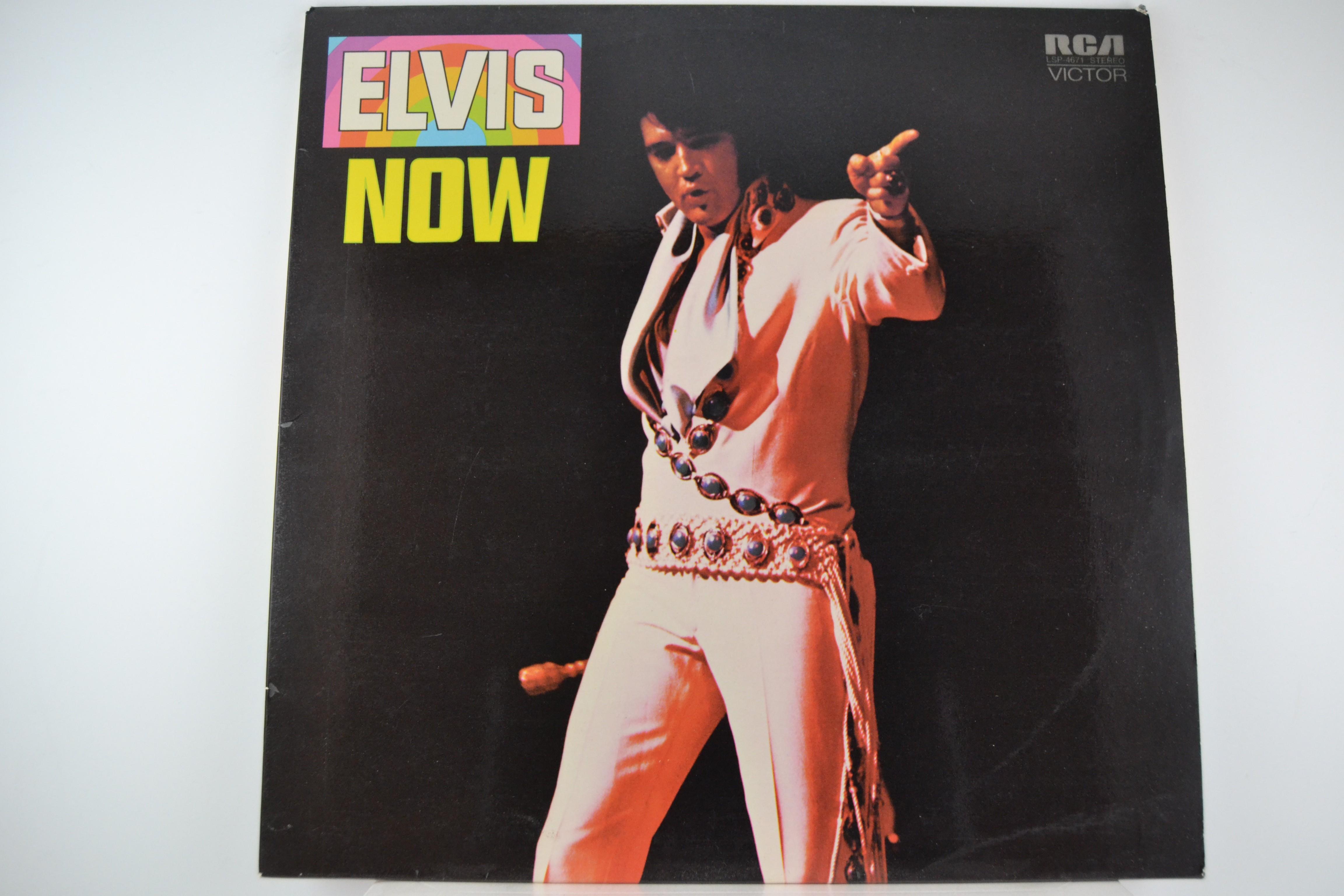 """ELVIS PRESLEY : """"Elvis - Now"""""""