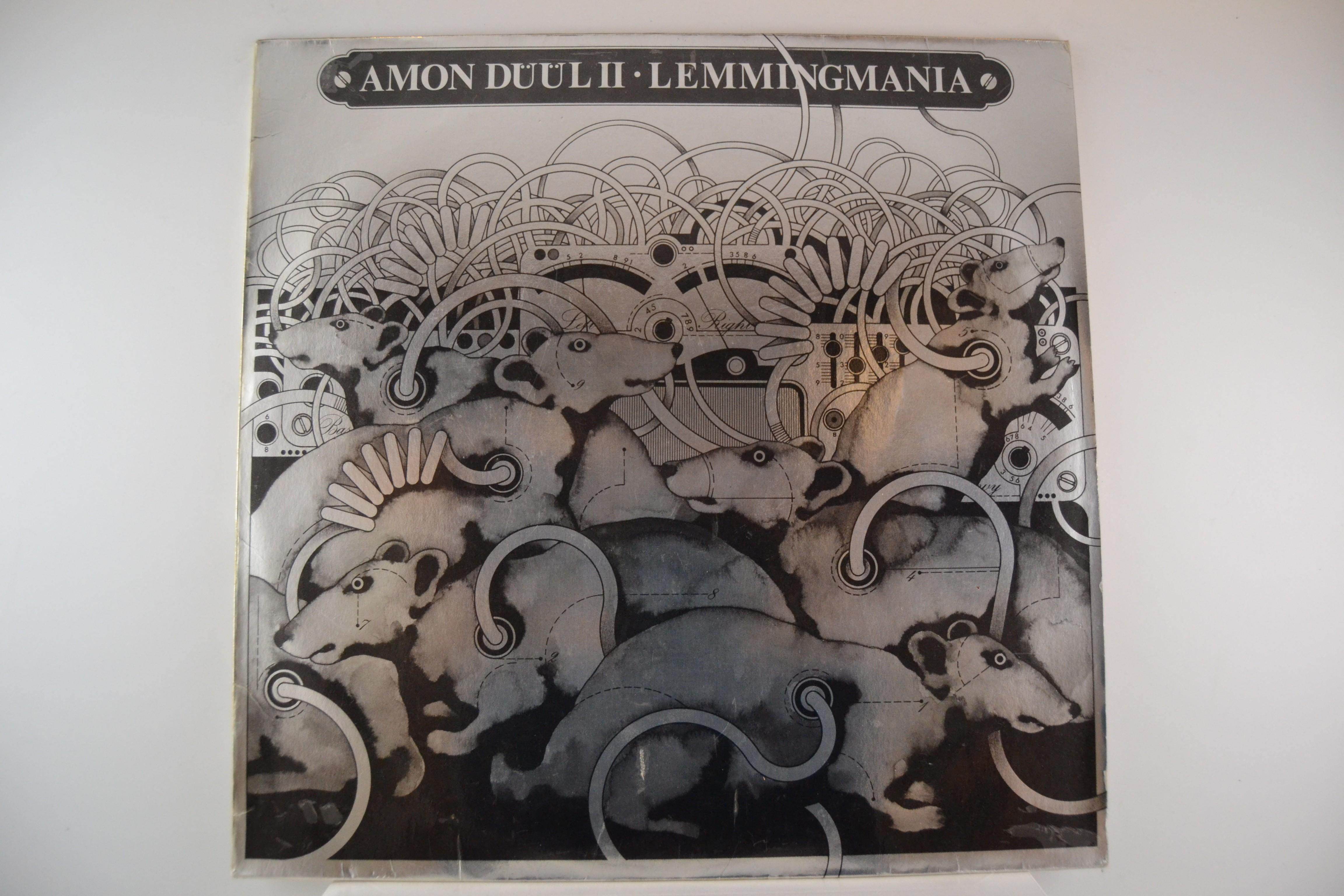 "AMON DÜÜL II : ""Lemmingmania"""