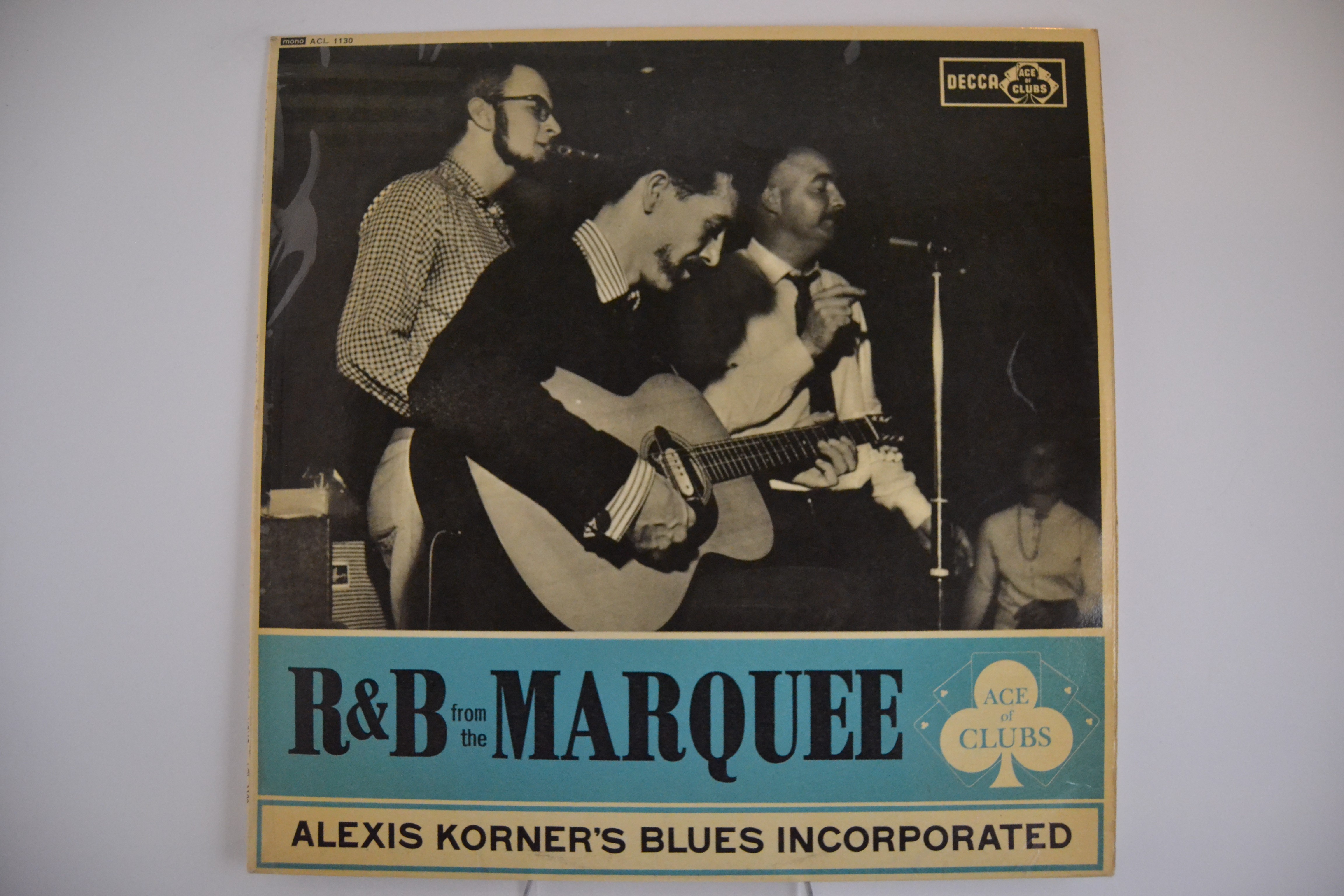 "ALEXIS KORNER'S BLUES INCORPORATED : ""Rhythm & Blues  from the Marquee"""