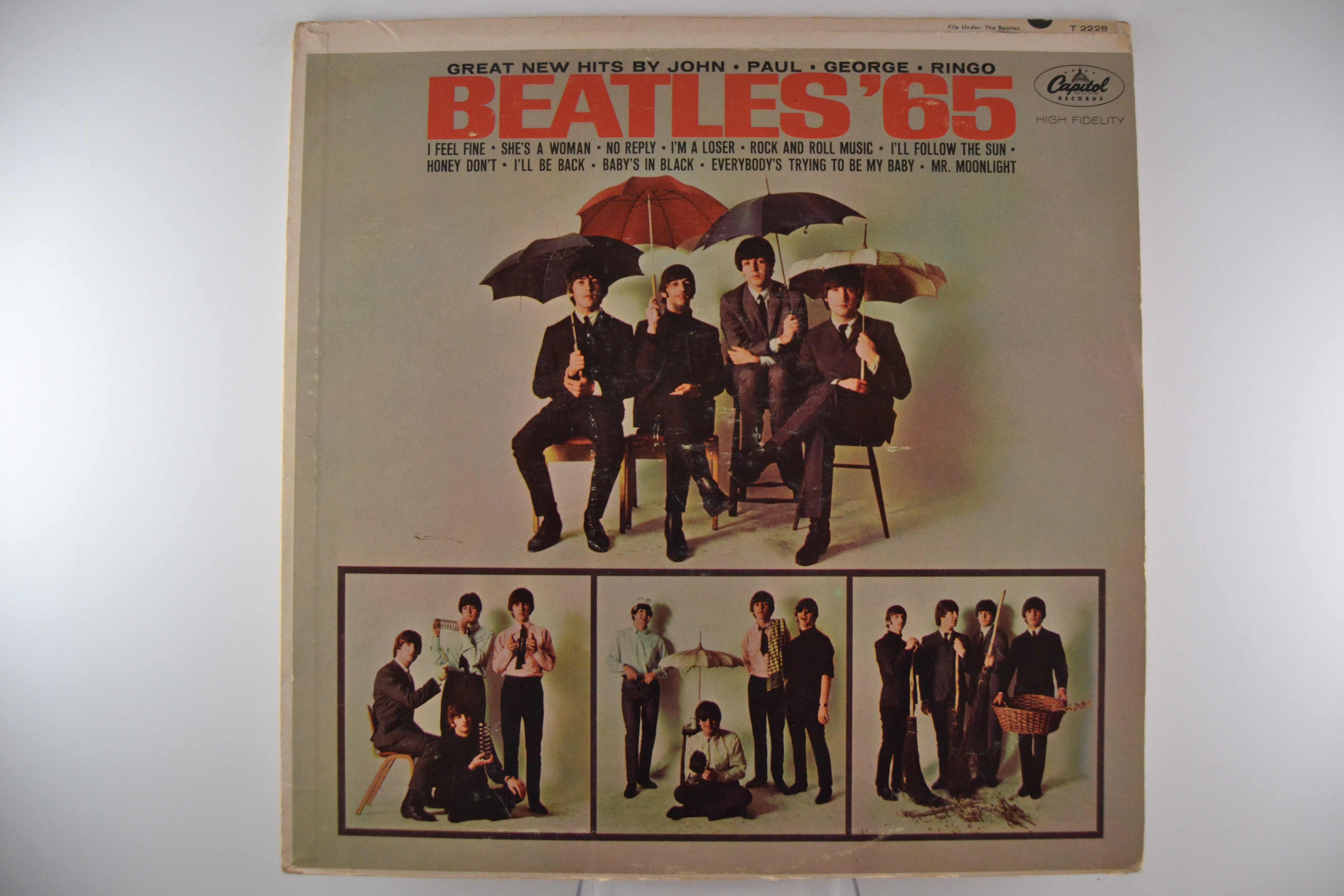 "BEATLES The  : ""Beatles '65"""