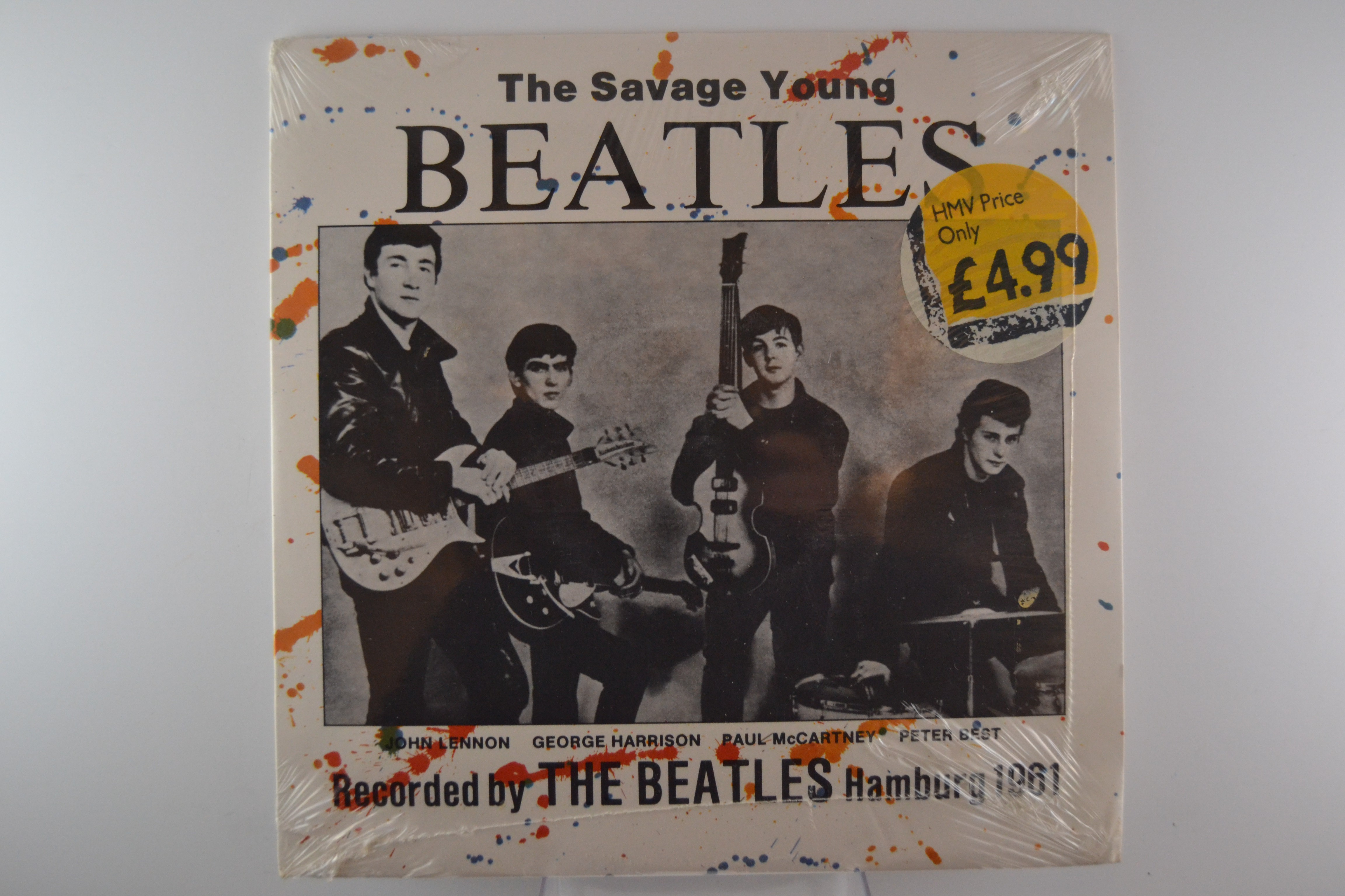 """BEATLES   The   : """"The savage young Beatles"""""""