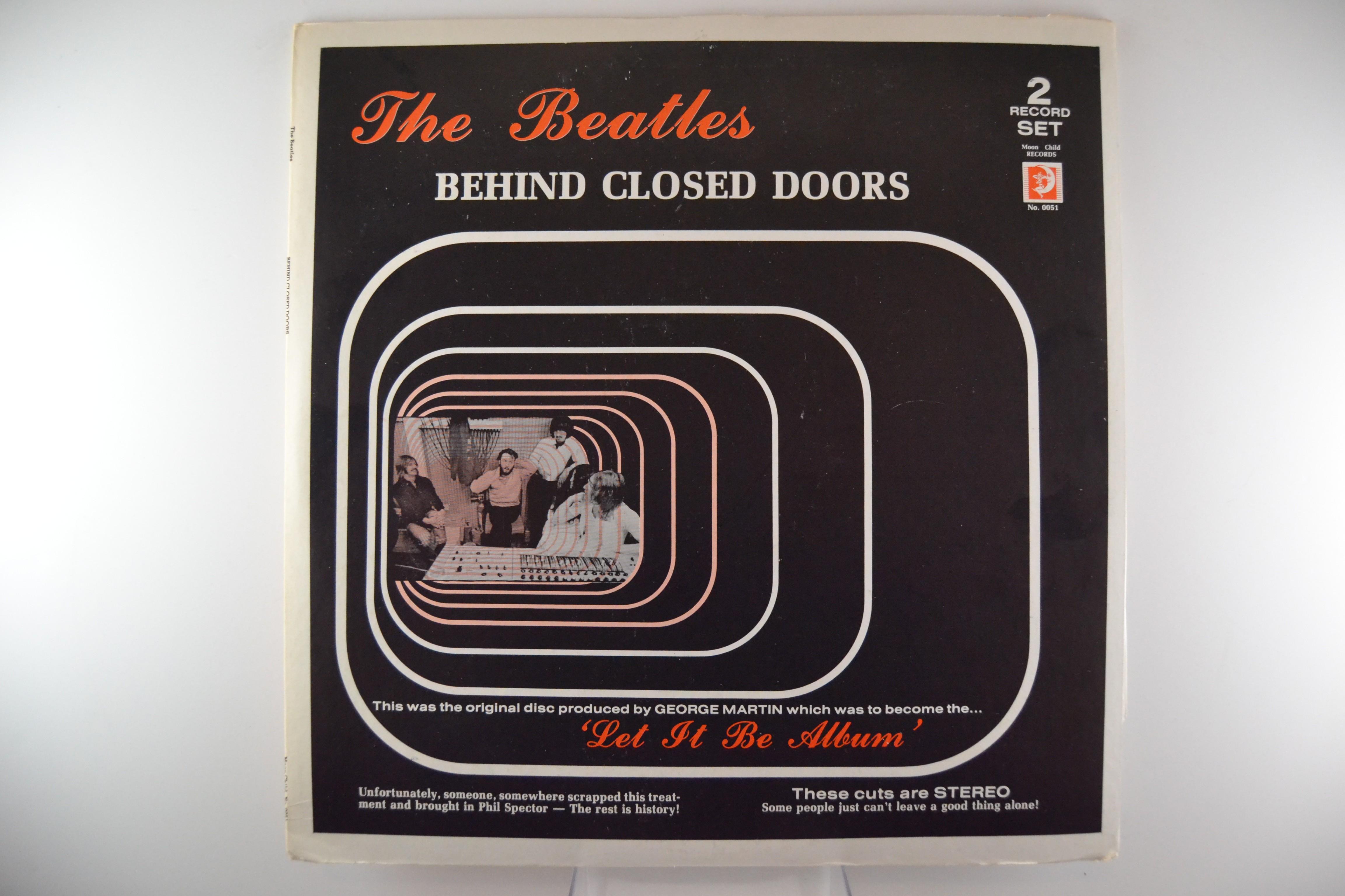 """BEATLES  The  : """"Behind closed doors"""""""