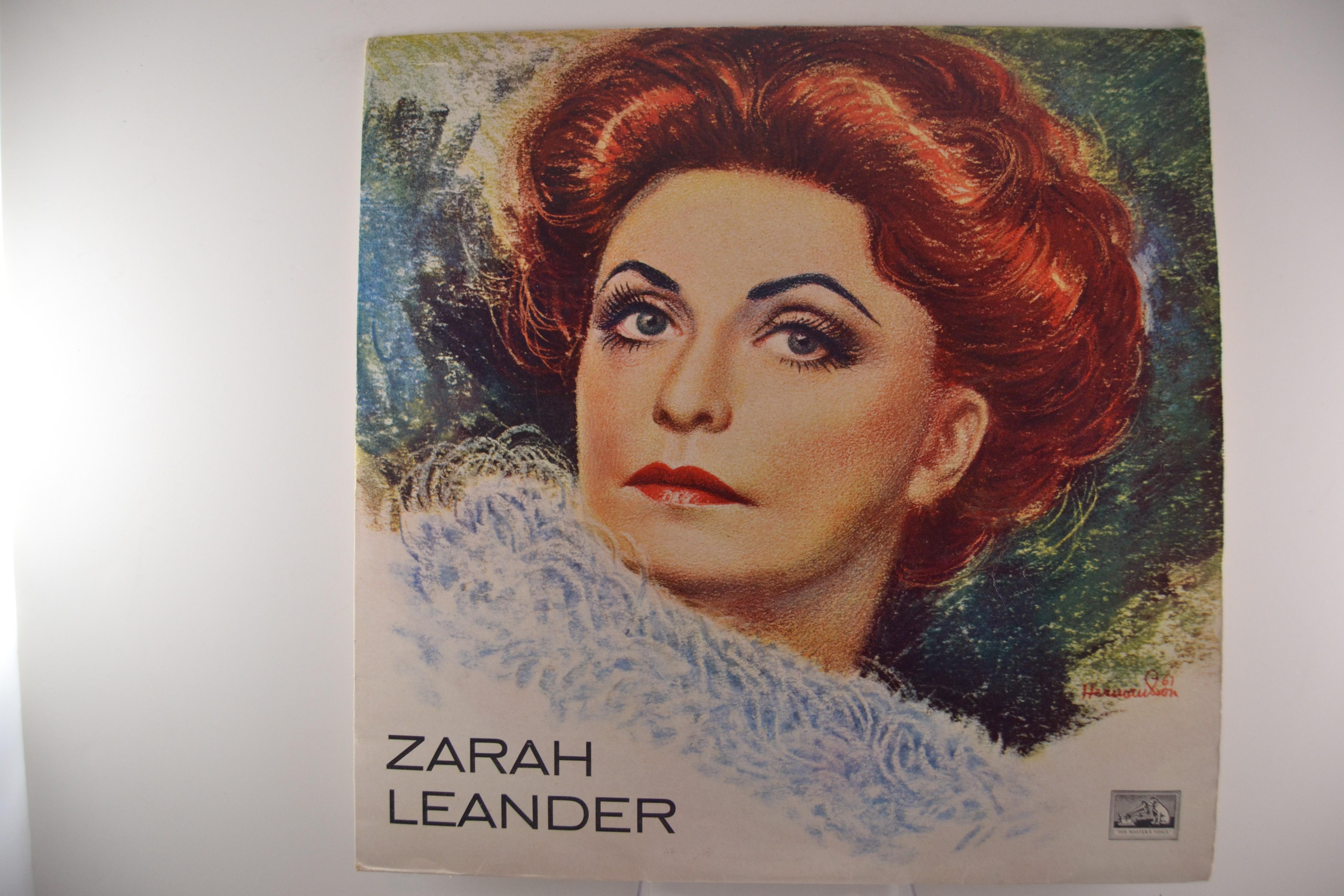 "ZARAH LEANDER : ""Zarah Leander"""