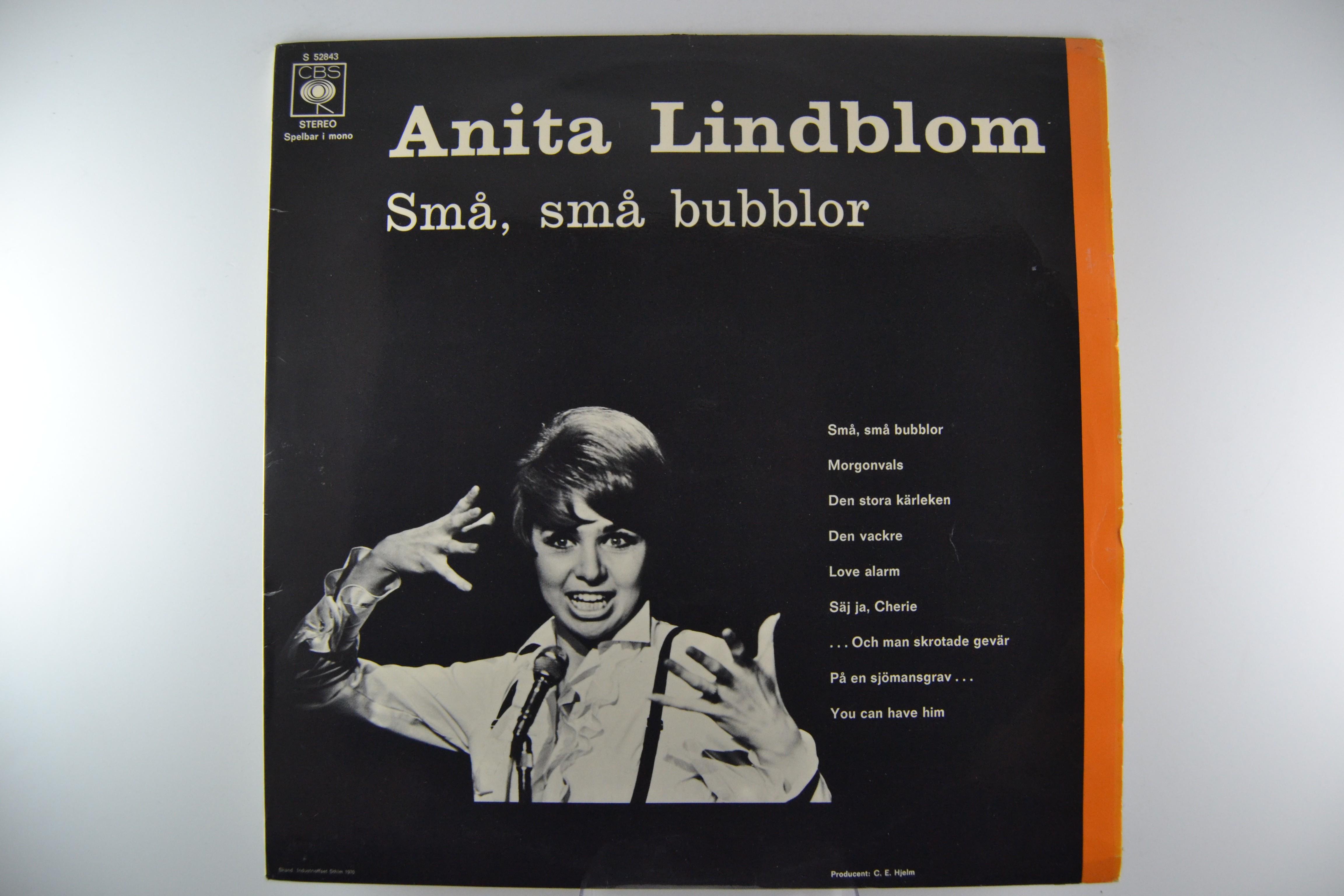 """ANITA LINDBLOM : """"Små, små bubblor"""""""