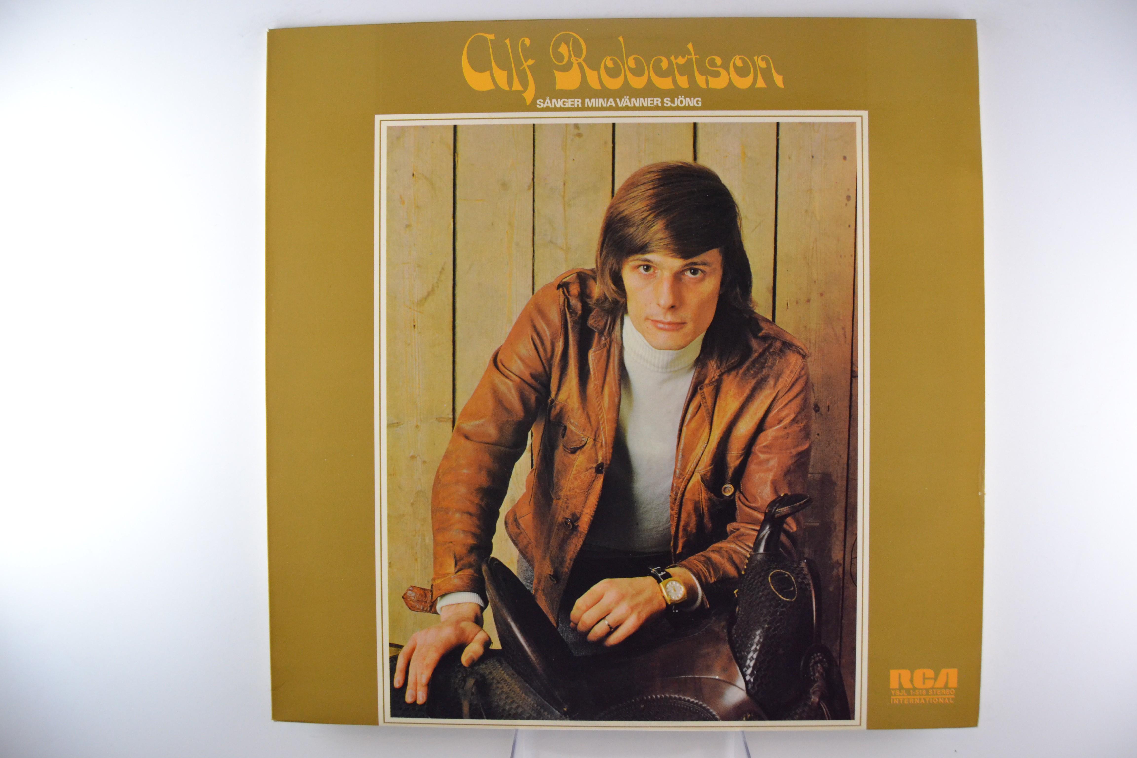 """ALF ROBERTSON : """"Sånger mina vänner sjöng"""""""