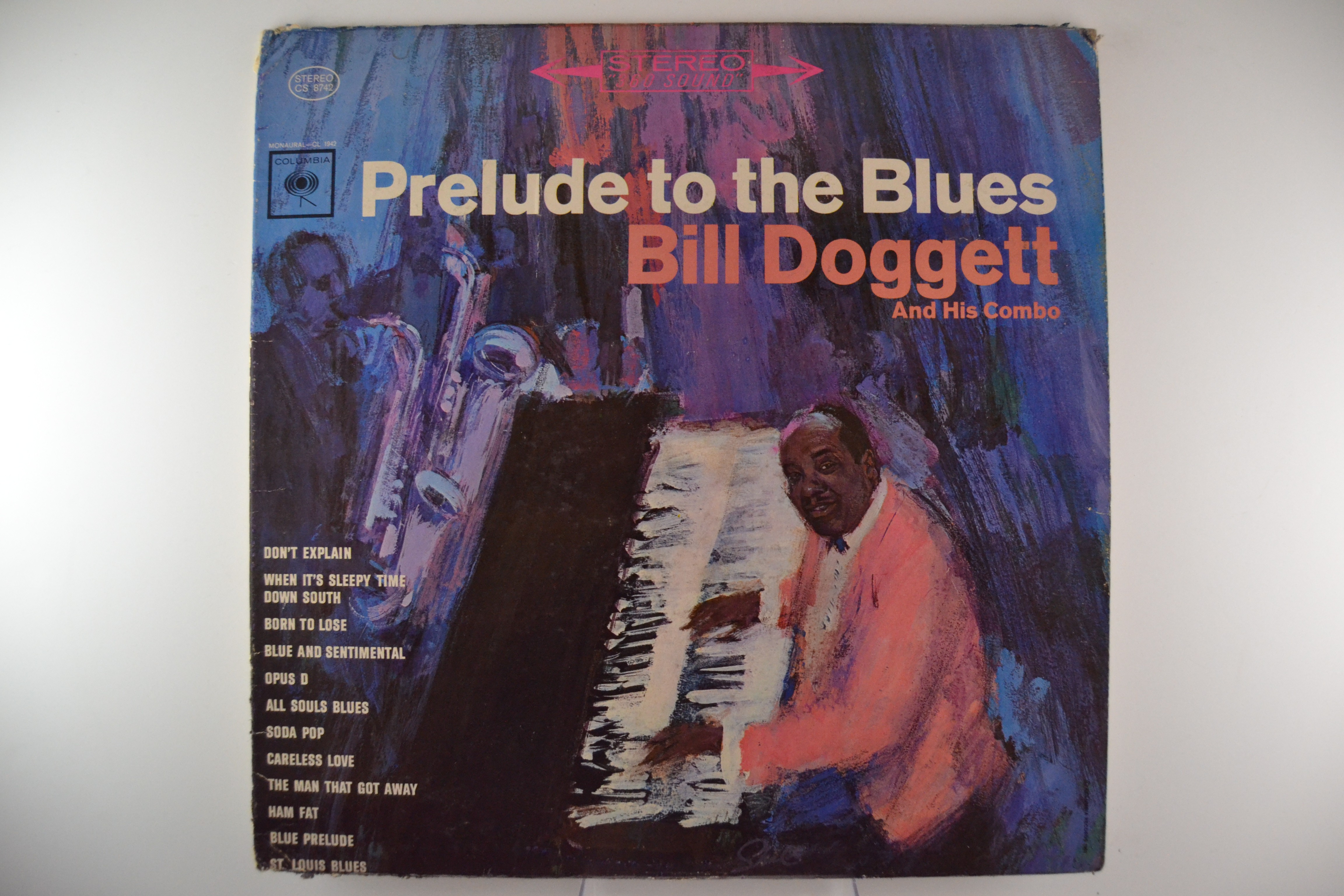 "BILL DOGGETT & HIS COMBO : ""Prelude to the Blues"""