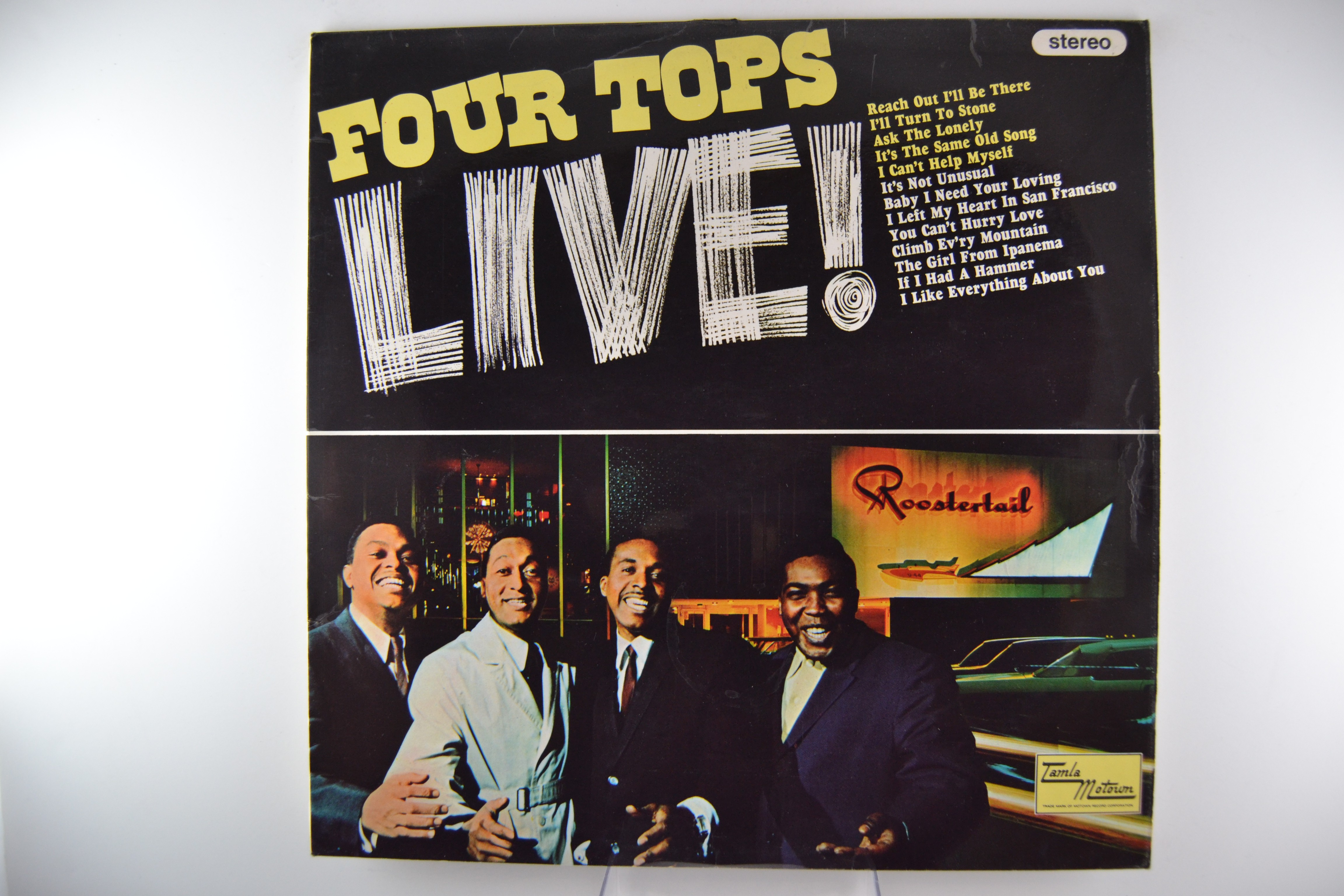 "FOUR TOPS : ""Four Tops Live!"""