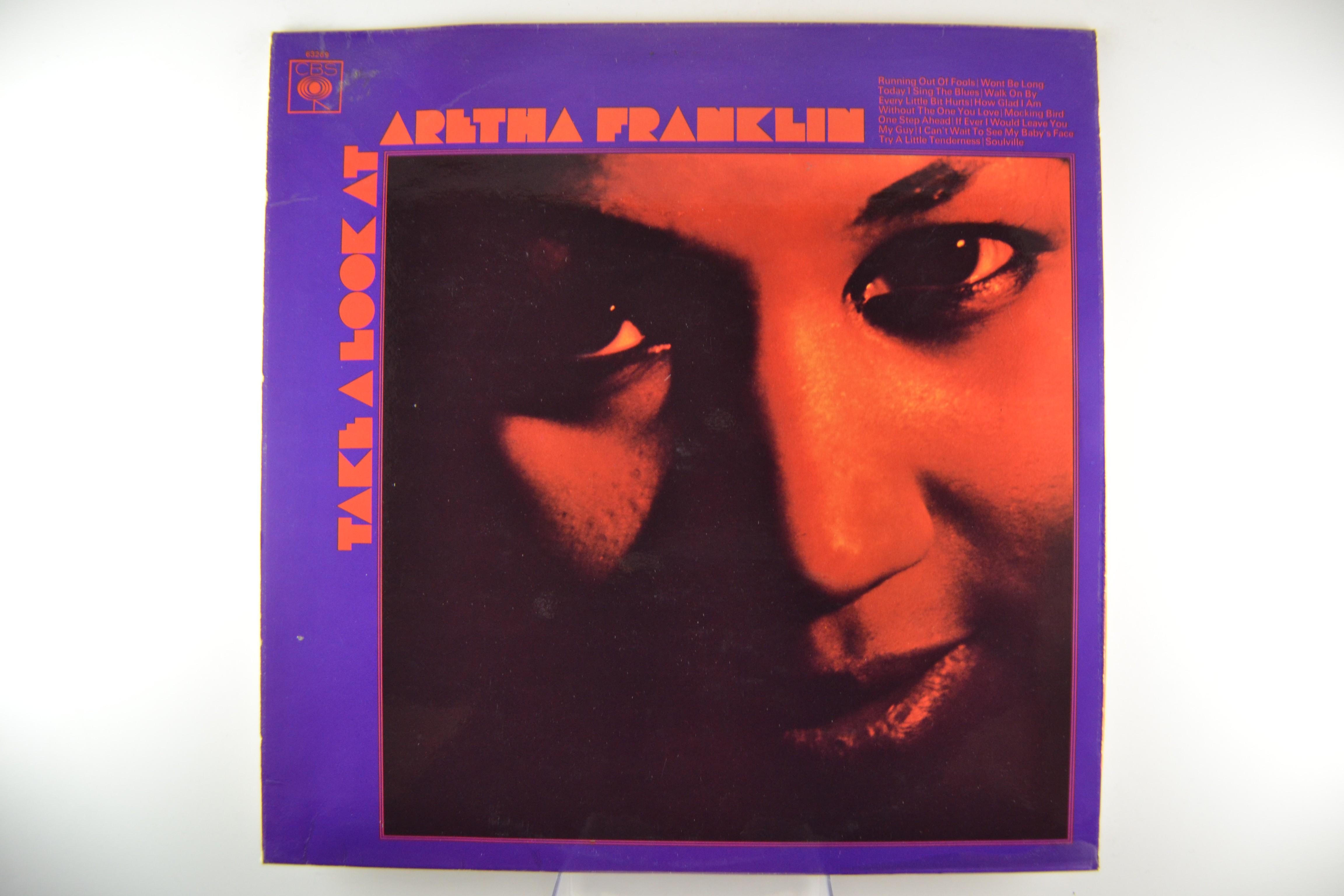 """ARETHA FRANKLIN : """"Take a look at Aretha Franklin"""""""