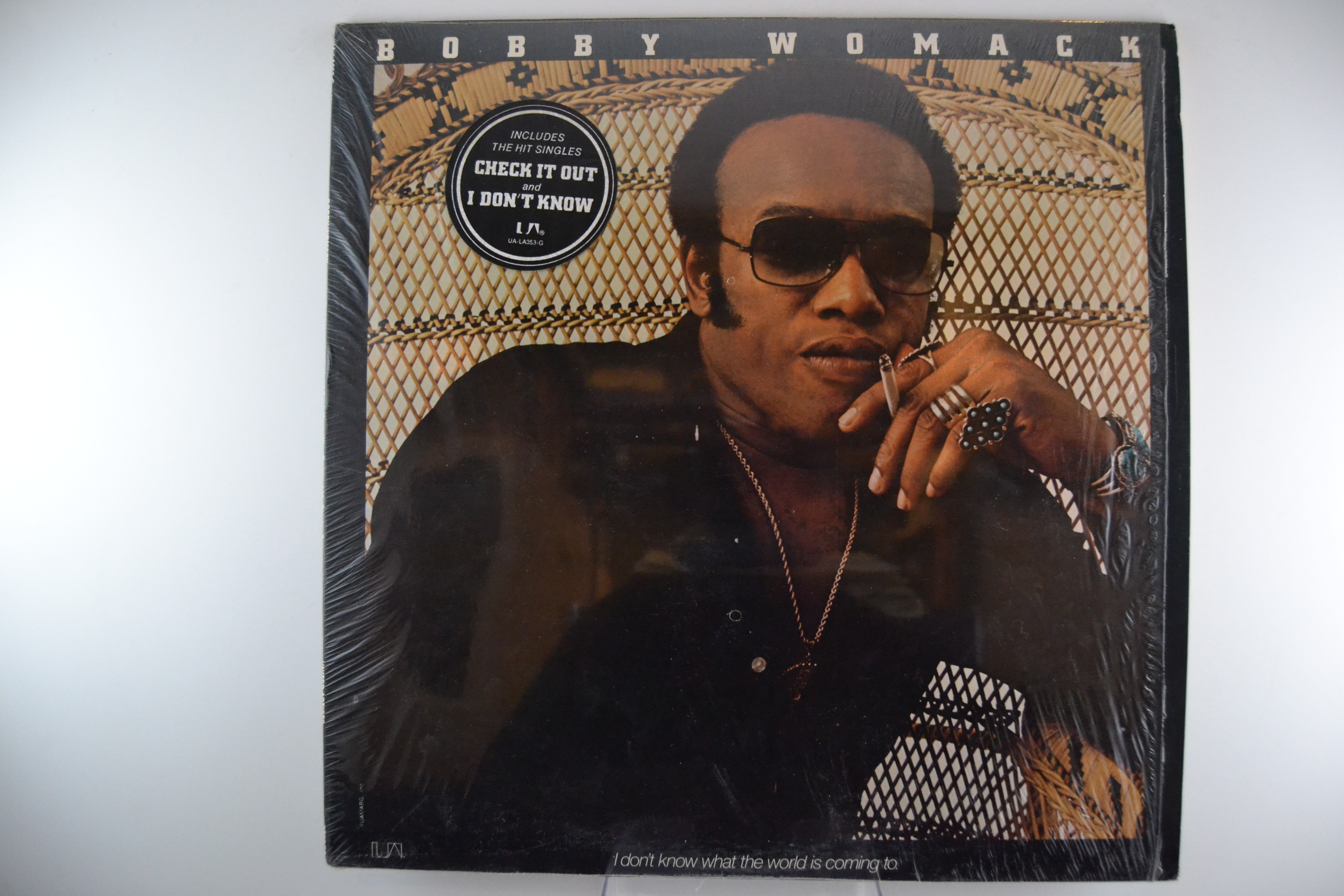 "BOBBY WOMACK : ""I don't know what the world is coming to"""