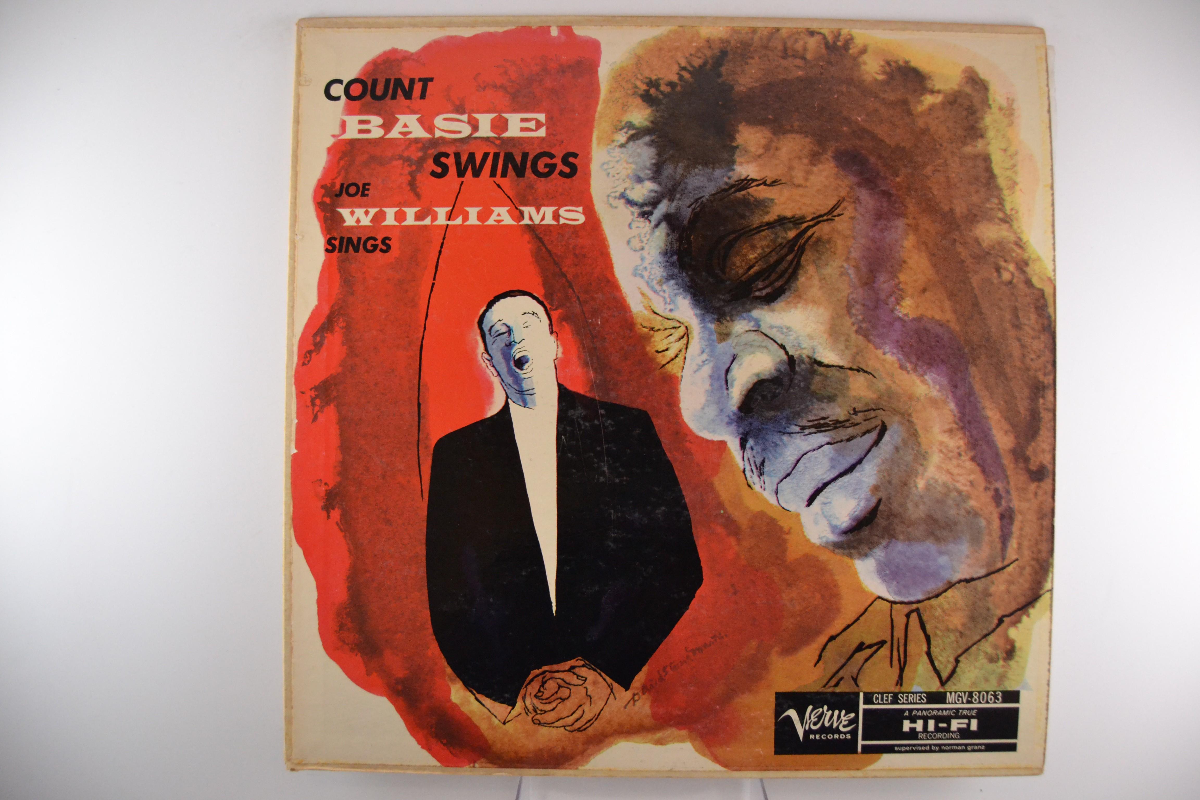 """COUNT BASIE & JOE WILLIAMS : """"Count Basie swings - Joe Williams sings"""""""