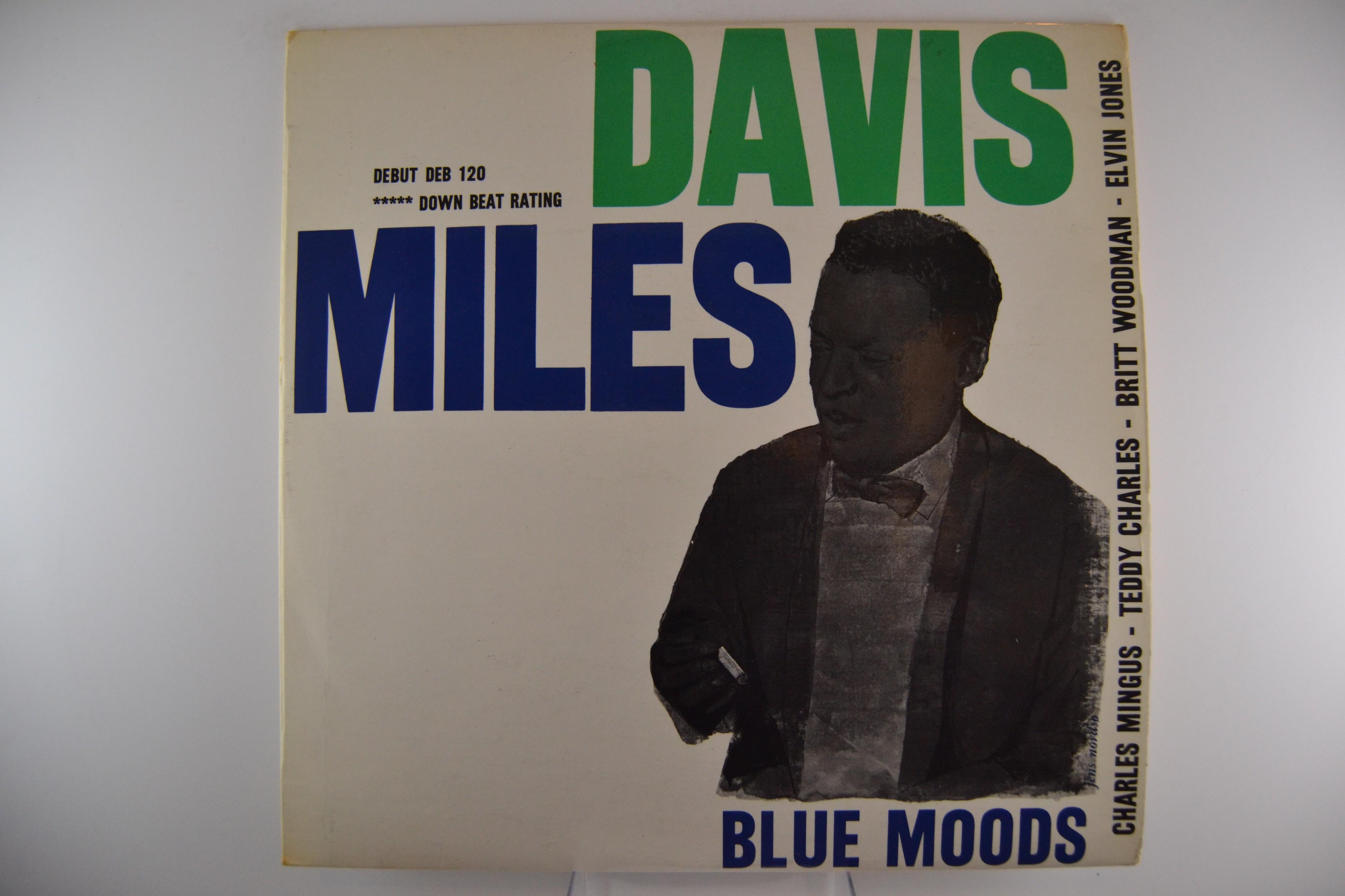 "MILES DAVIS : ""Blues moods"""