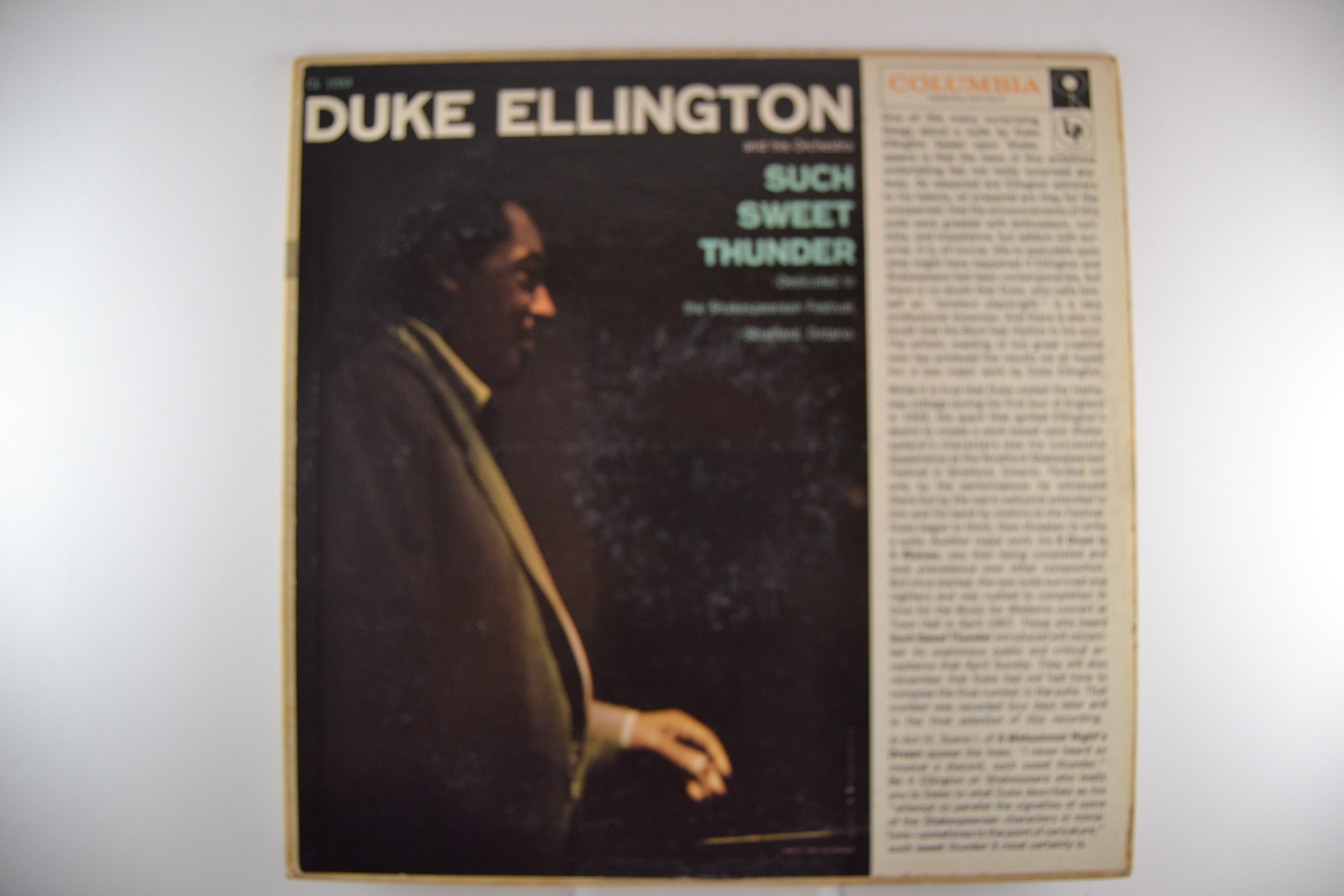 "DUKE ELLINGTON : ""Such sweet thunder"""