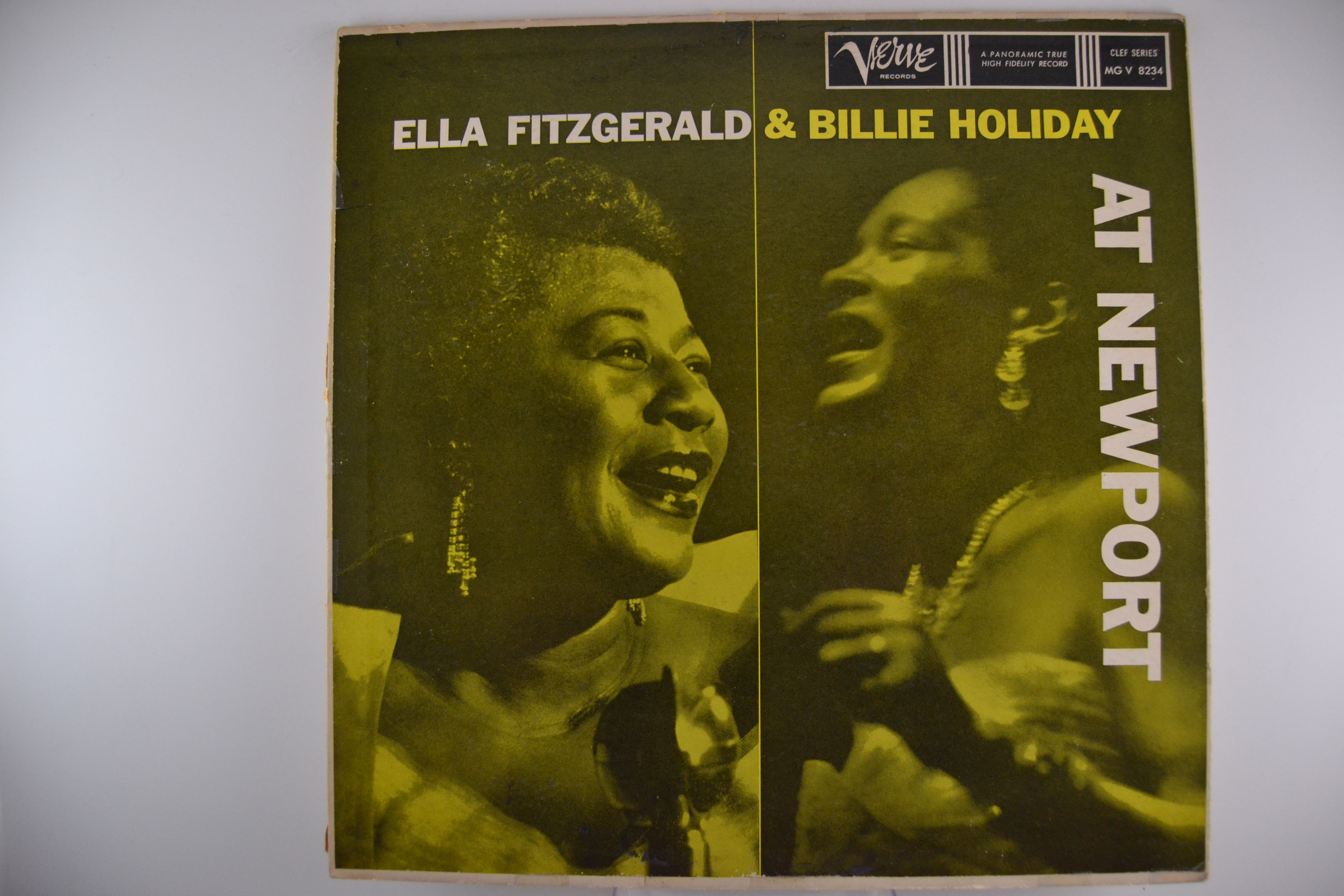 "ELLA FITZGERALD & BILLIE HOLIDAY : ""At Newport"""