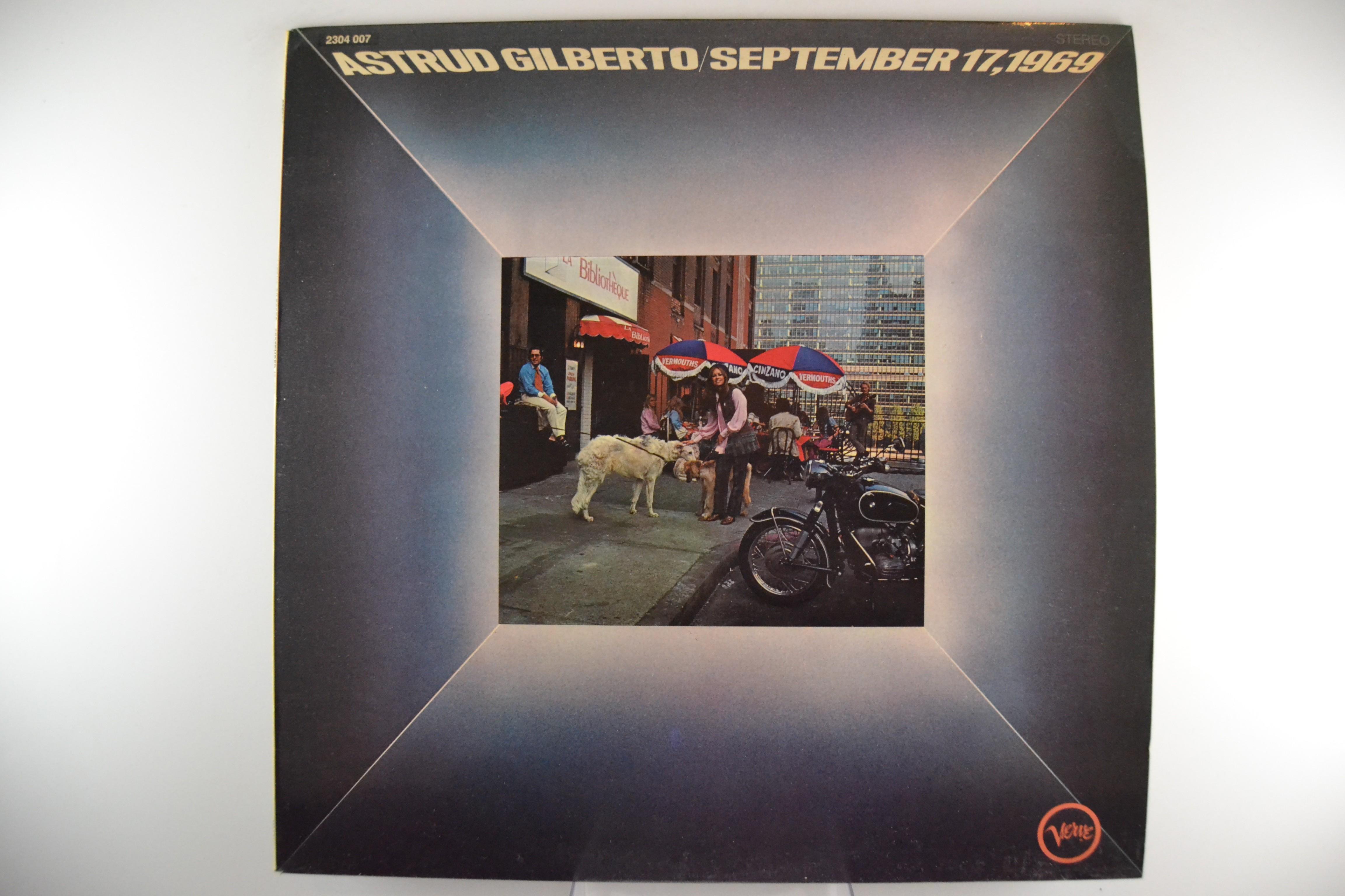 "ASTRUD GILBERTO : ""September 17, 1969"""