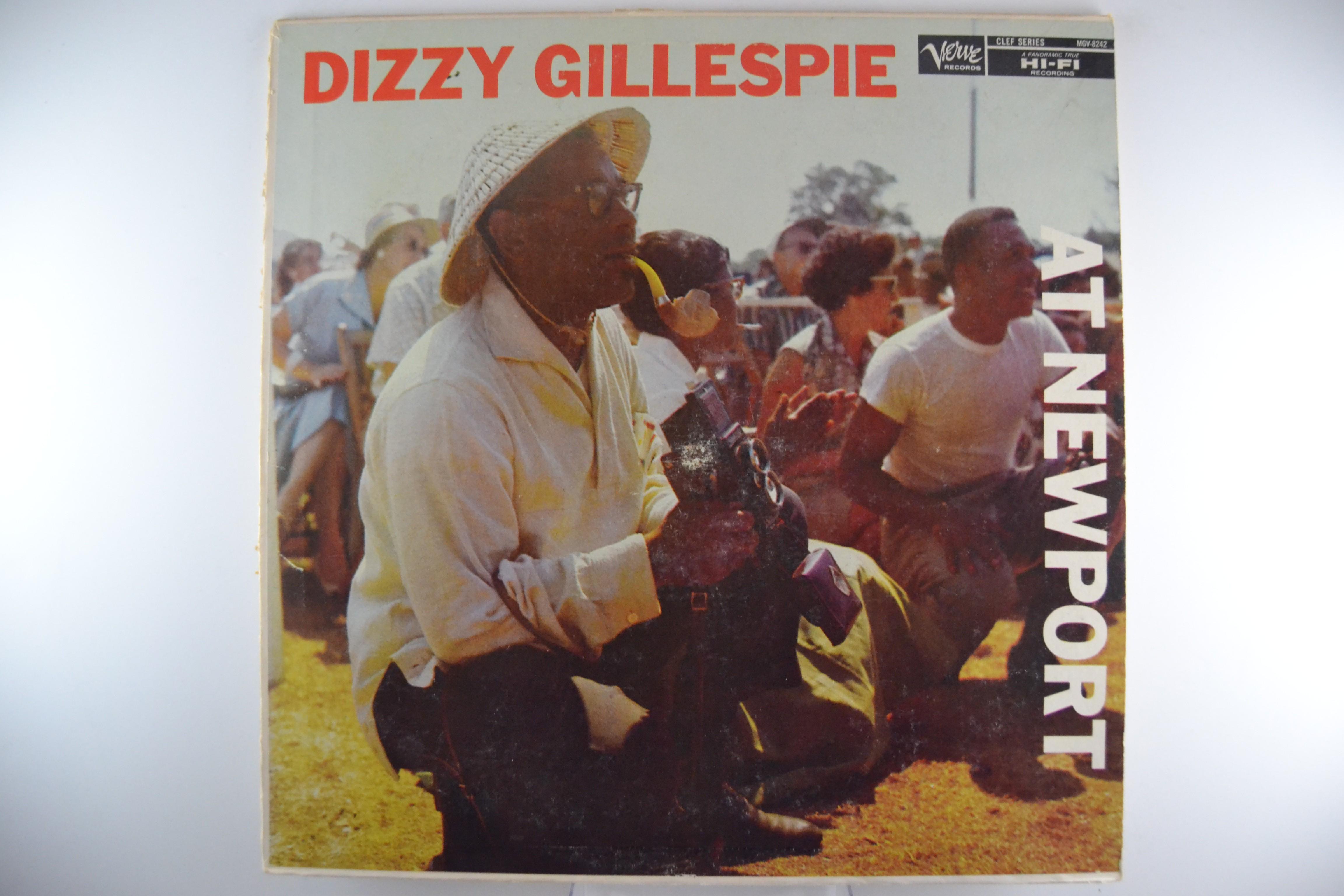 "DIZZY GILLESPIE : ""At Newport"""