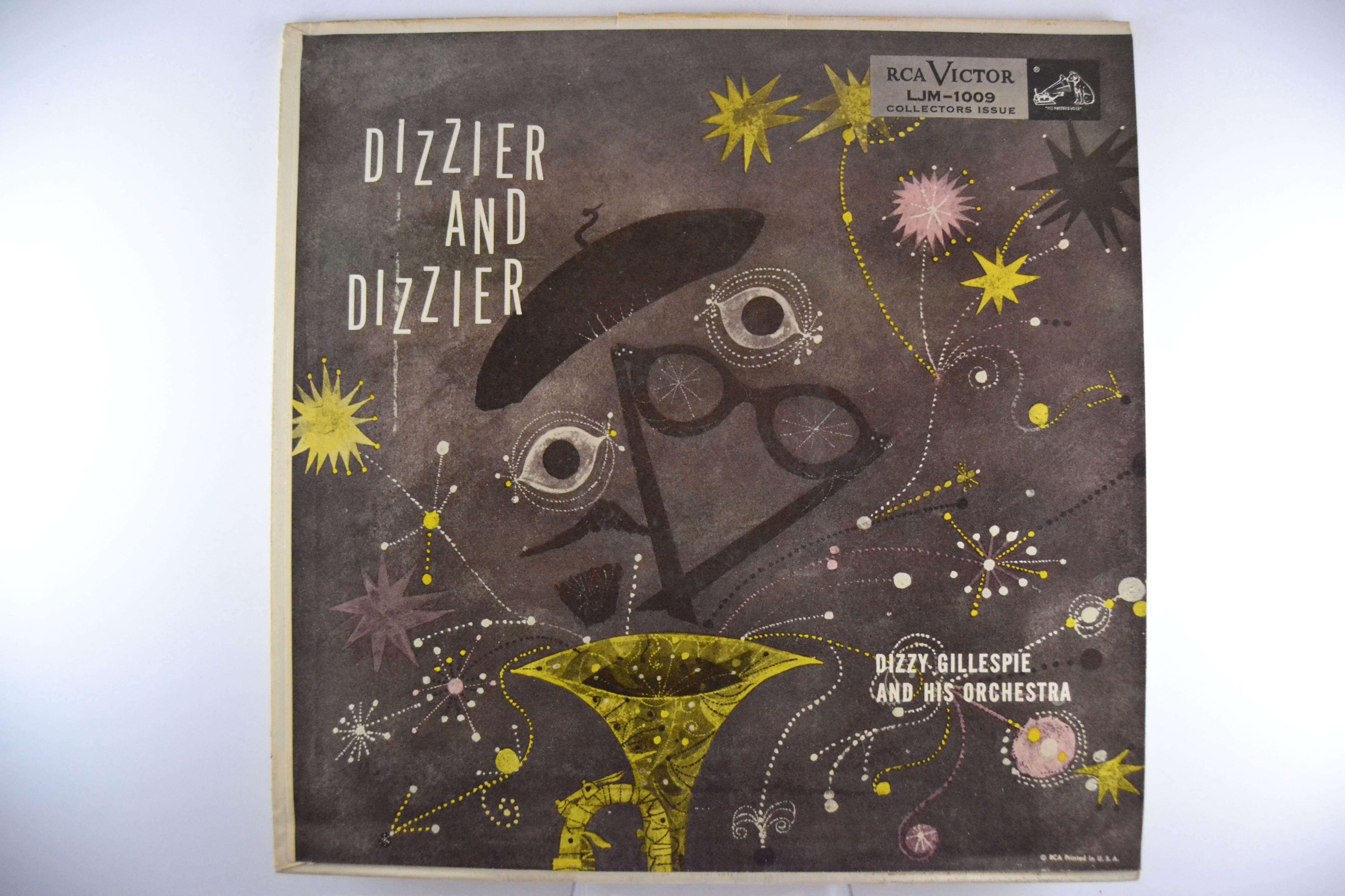 """DIZZY GILLESPIE : """"Dizzier and Dizzier"""""""