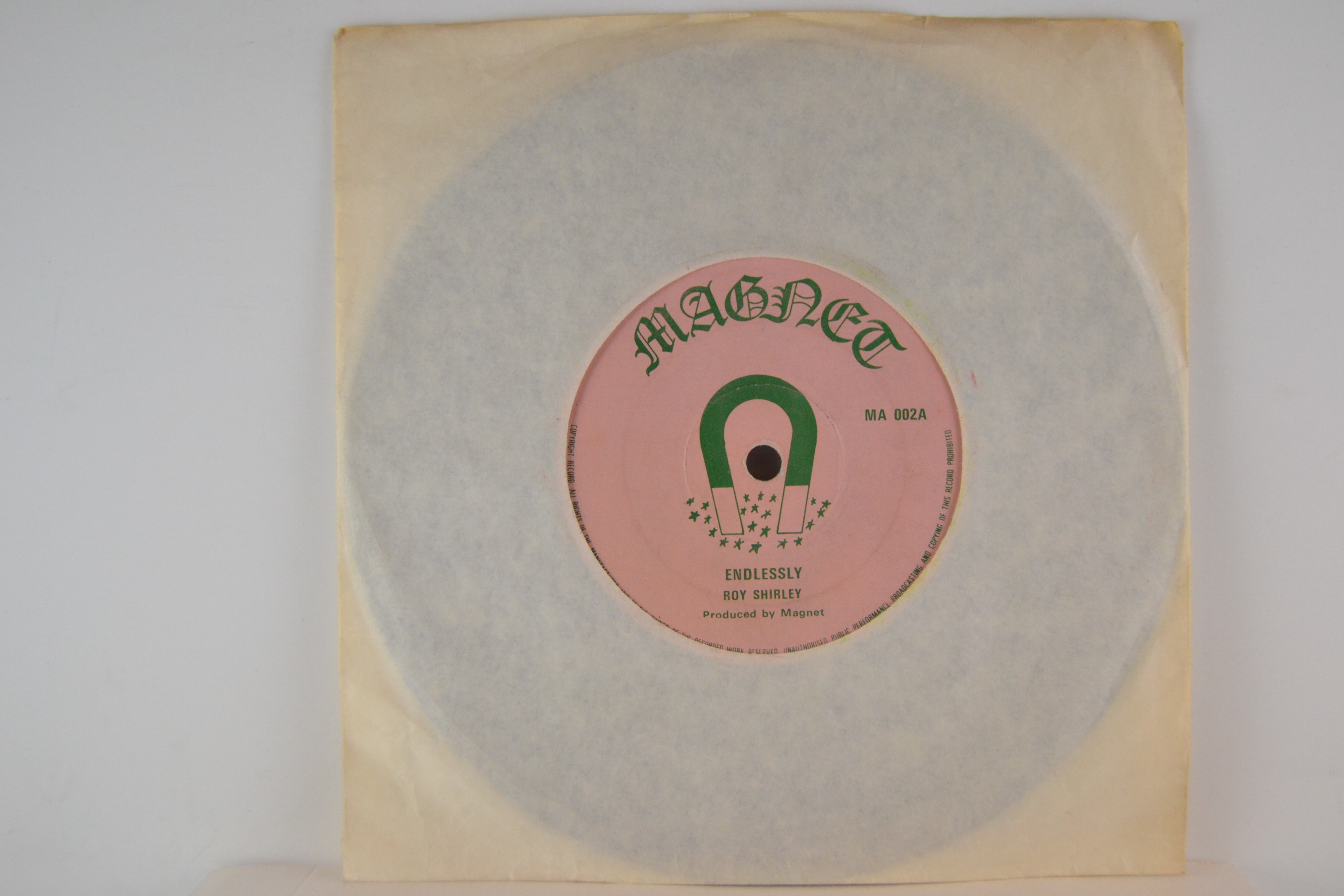 ROY SHIRLEY : Endlessly / Put your sweet lips