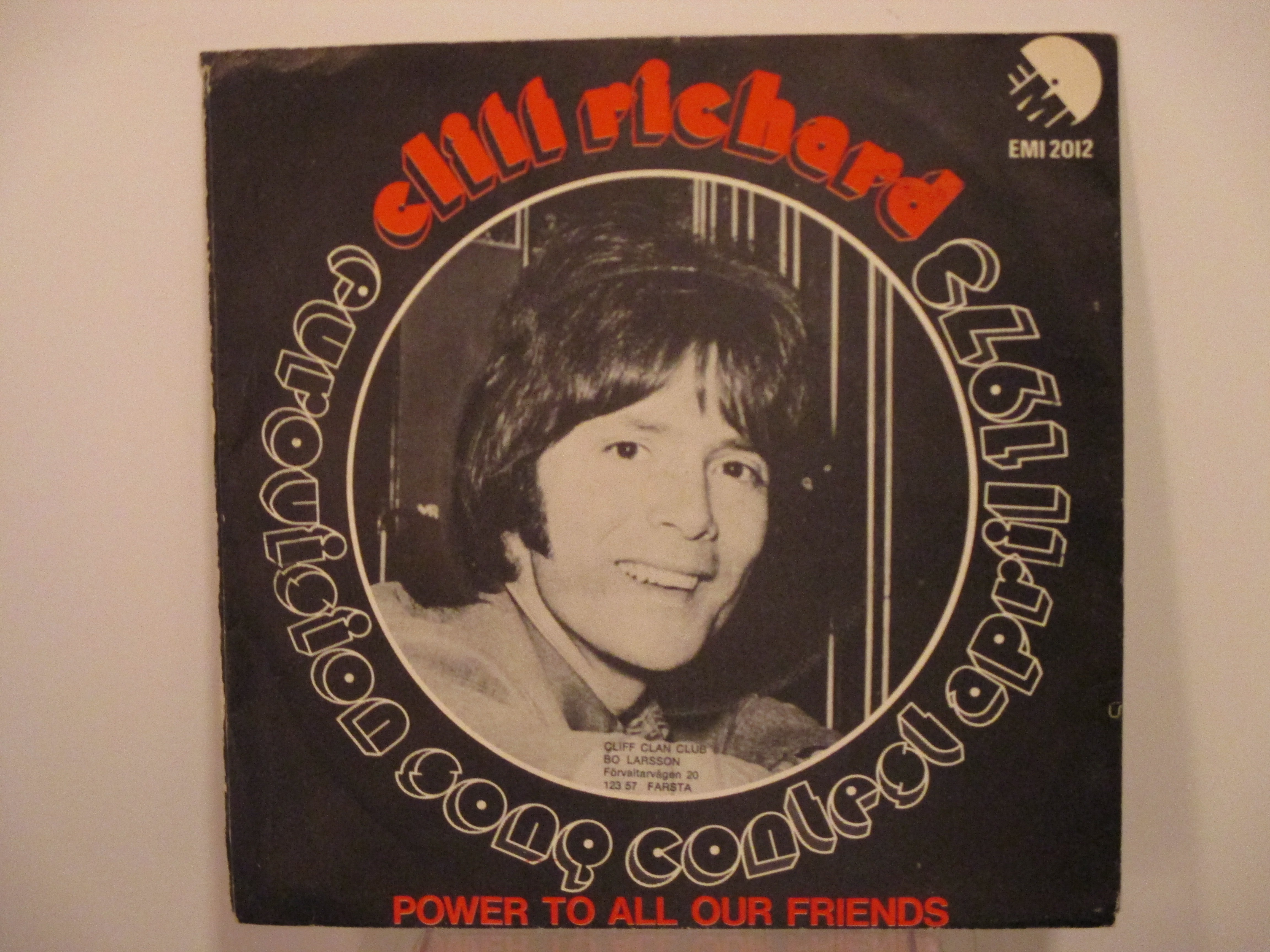 CLIFF RICHARD : Power to all our friends / Come back Billie Joe