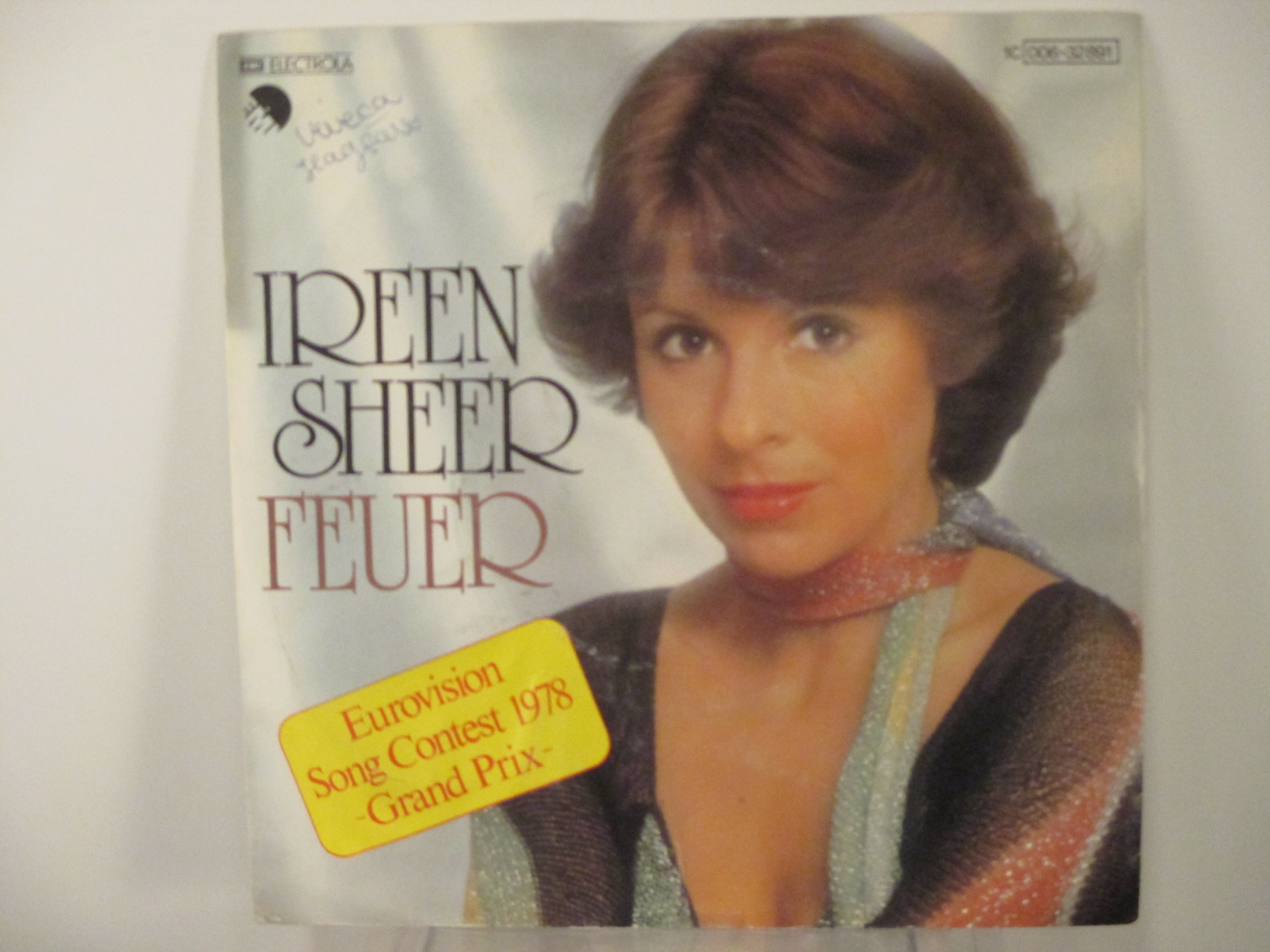 IREEN SHEER : Feuer / Oh, mon amour