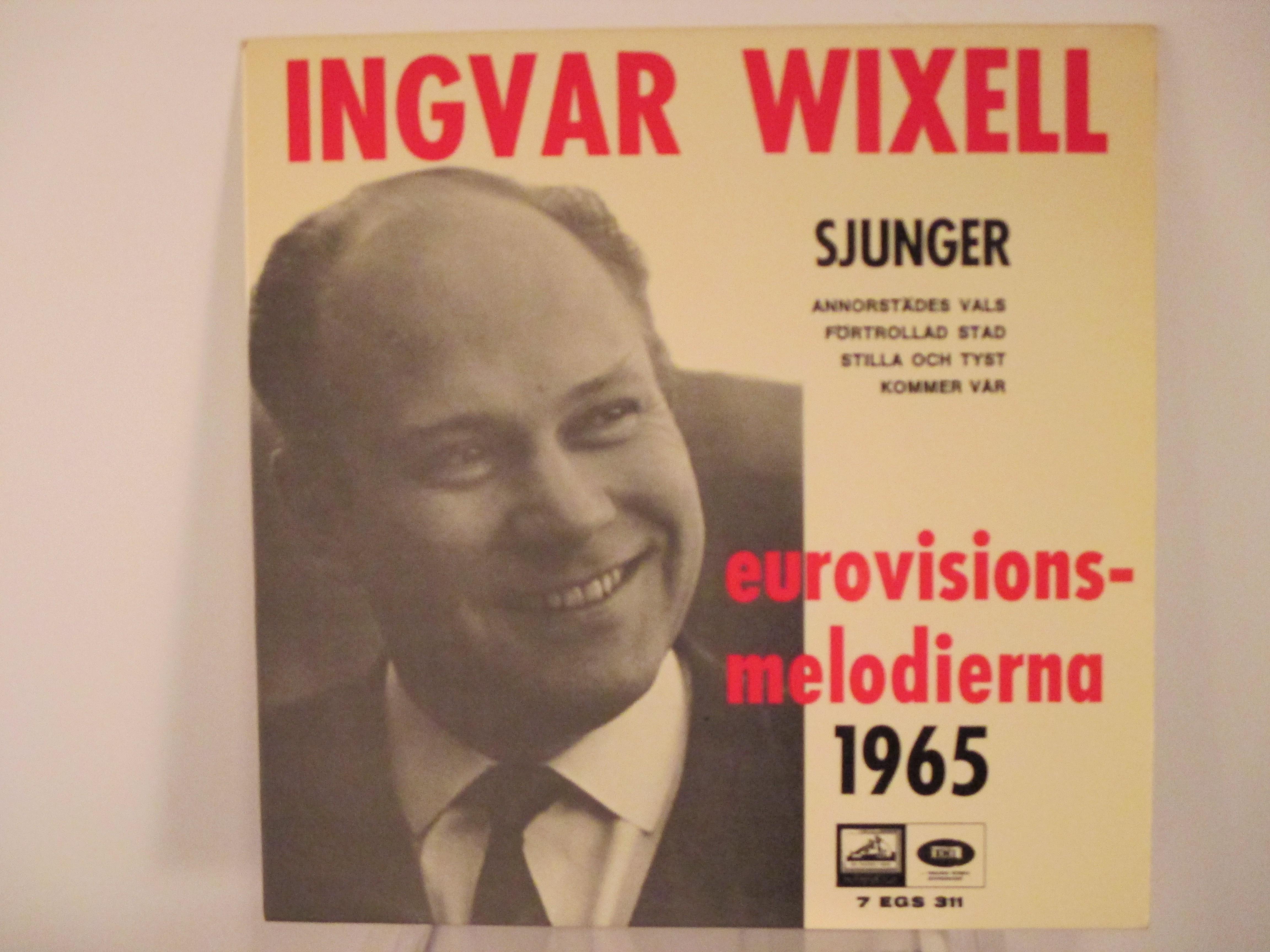 INGVAR WIXELL : (EP) Annorstädes vals / Förtrollad stad / Stilla och tyst / Kommer vår