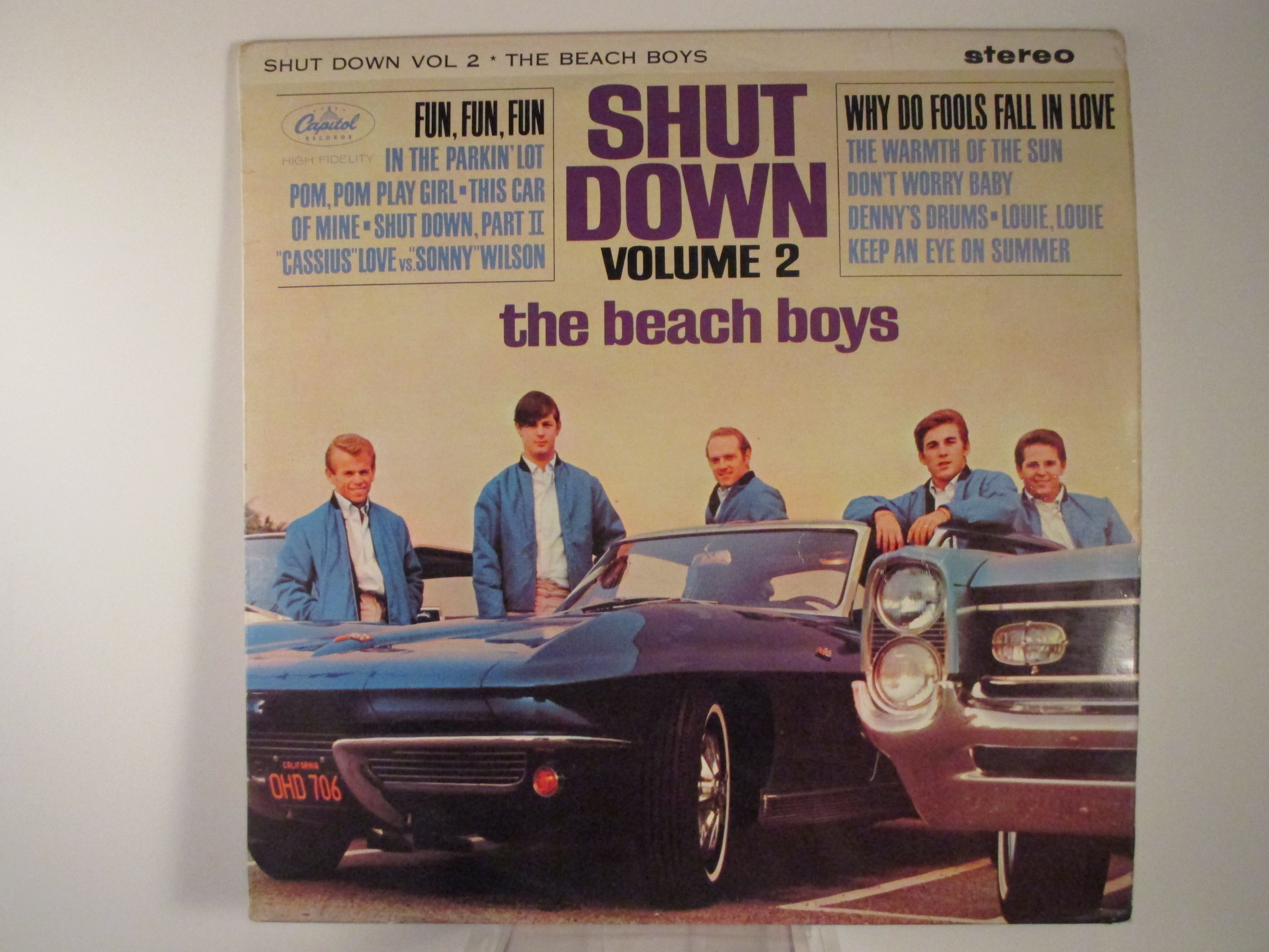 "BEACH BOYS : ""Shut down Vol 2"""