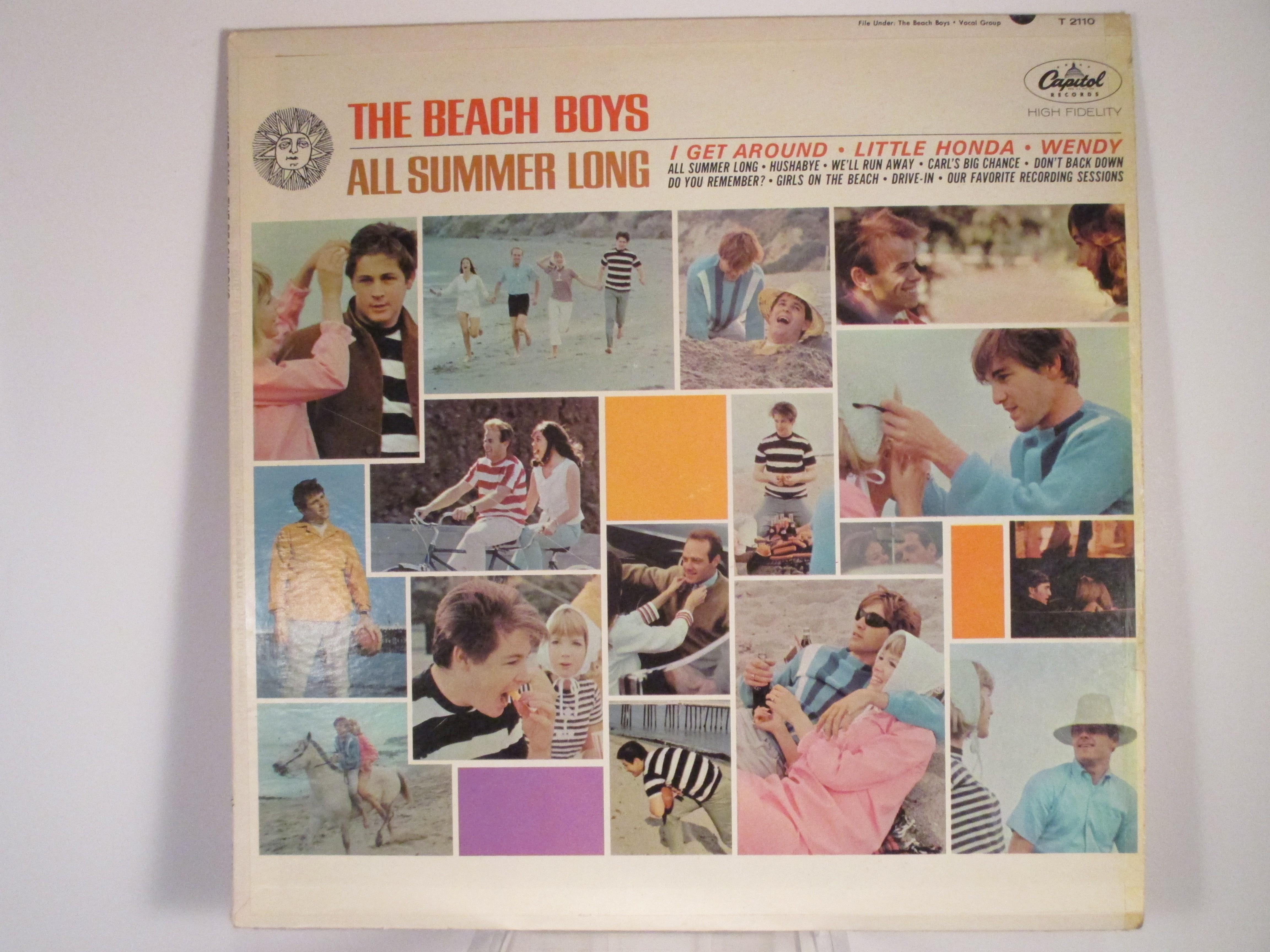 """BEACH BOYS : """"All summer long"""""""