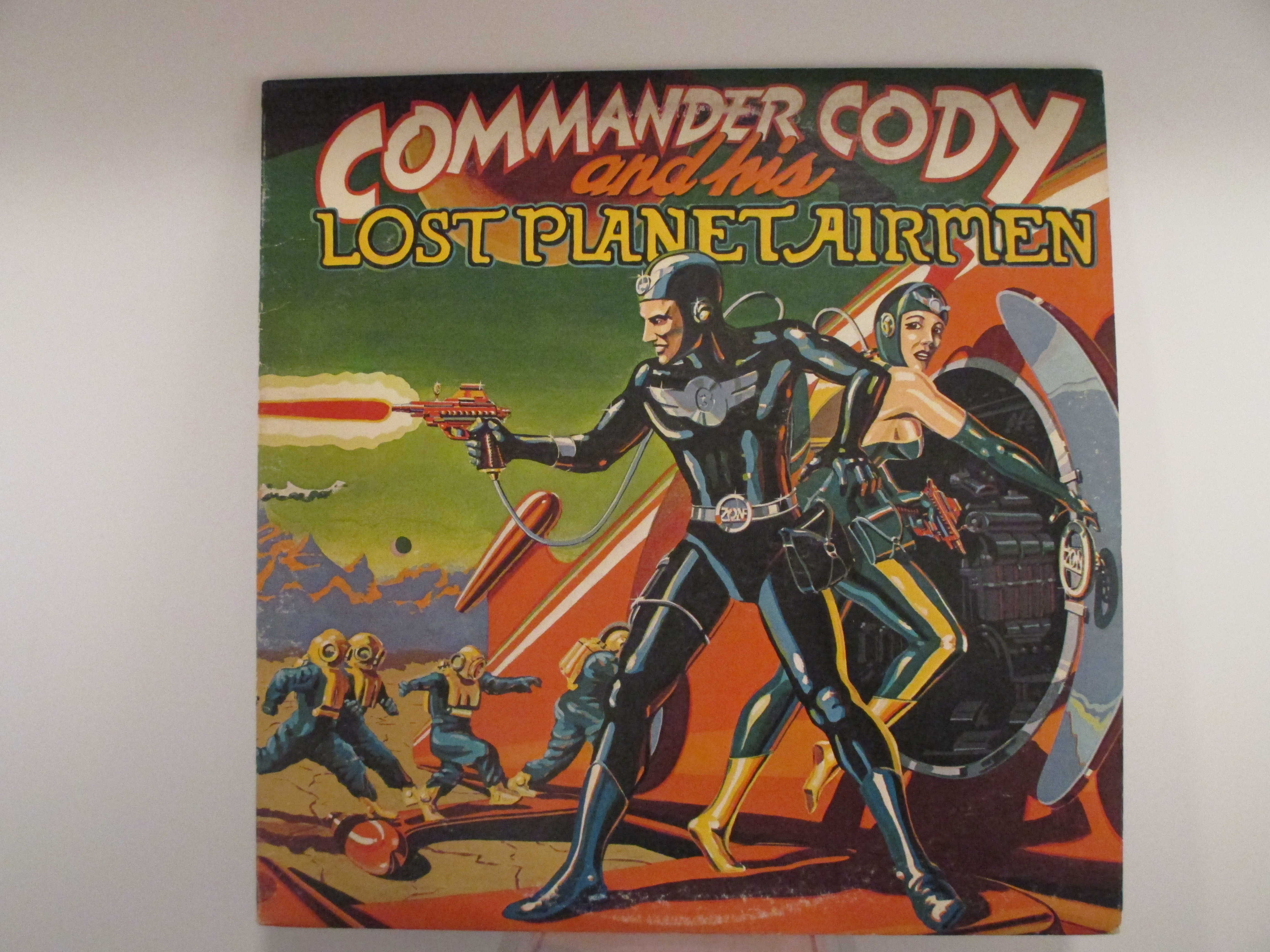 "COMMANDER CODY AND HIS LOST PLANET AIRMEN  : ""Commander Cody And His Lost Planet Airmen"""