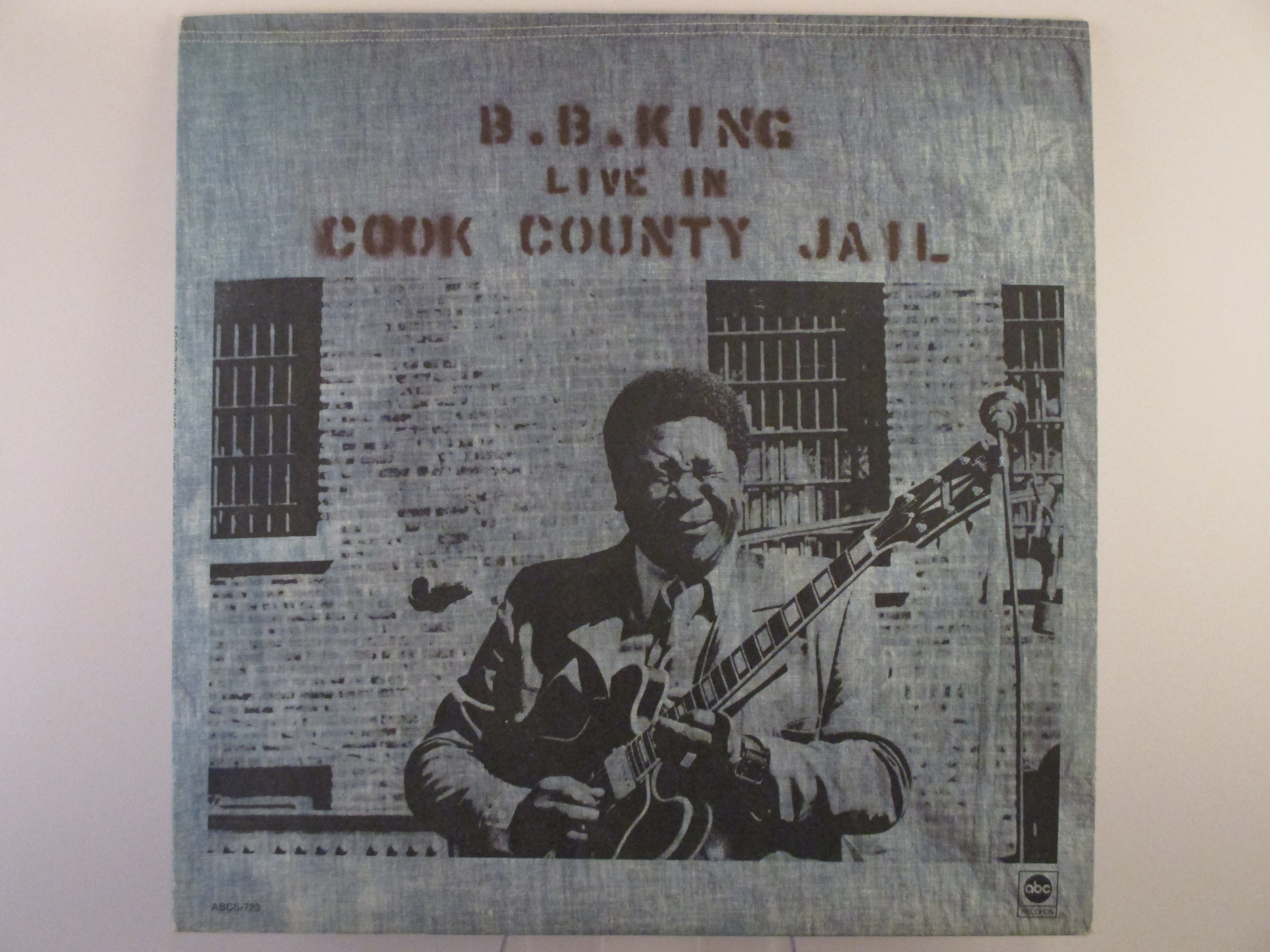 "B. B. KING : ""Live in Cook County Jail"""