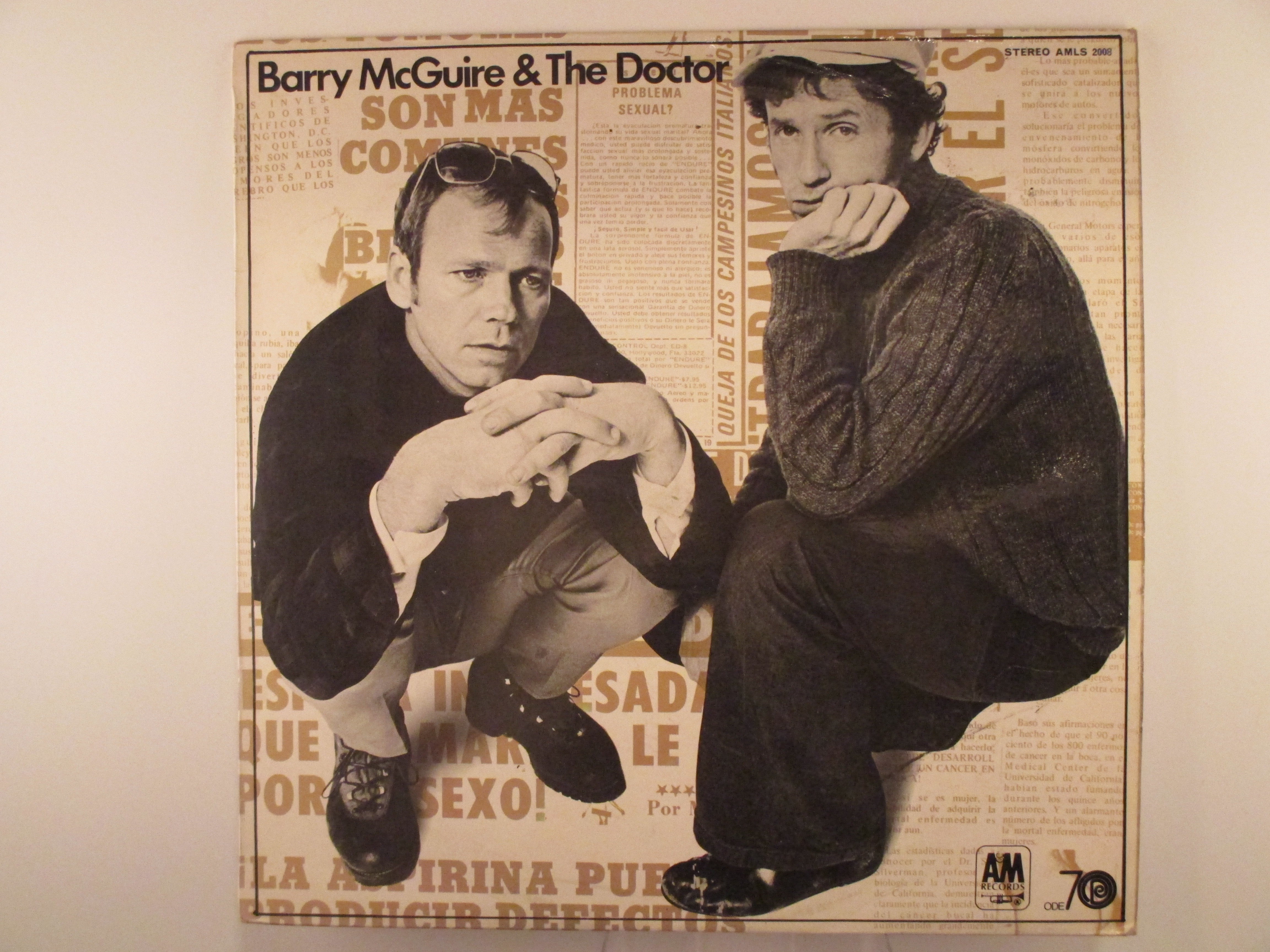 "BARRY McGUIRE & ERIC HORD : ""Barry McGuire & The Doctor"""