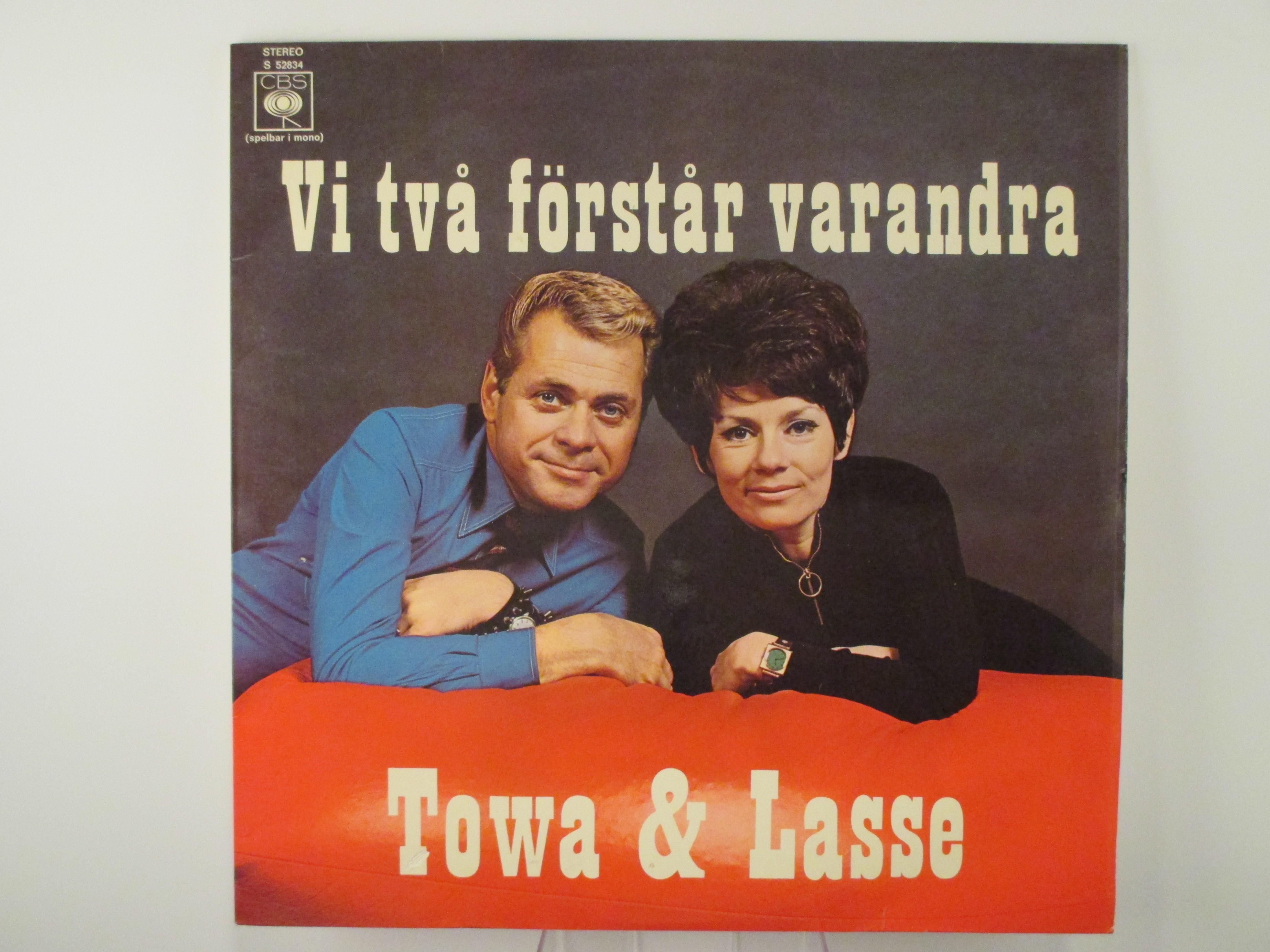 """TOWA CARSON & LARS LÖNNDAHL : """"Vi två förstår varandra"""""""