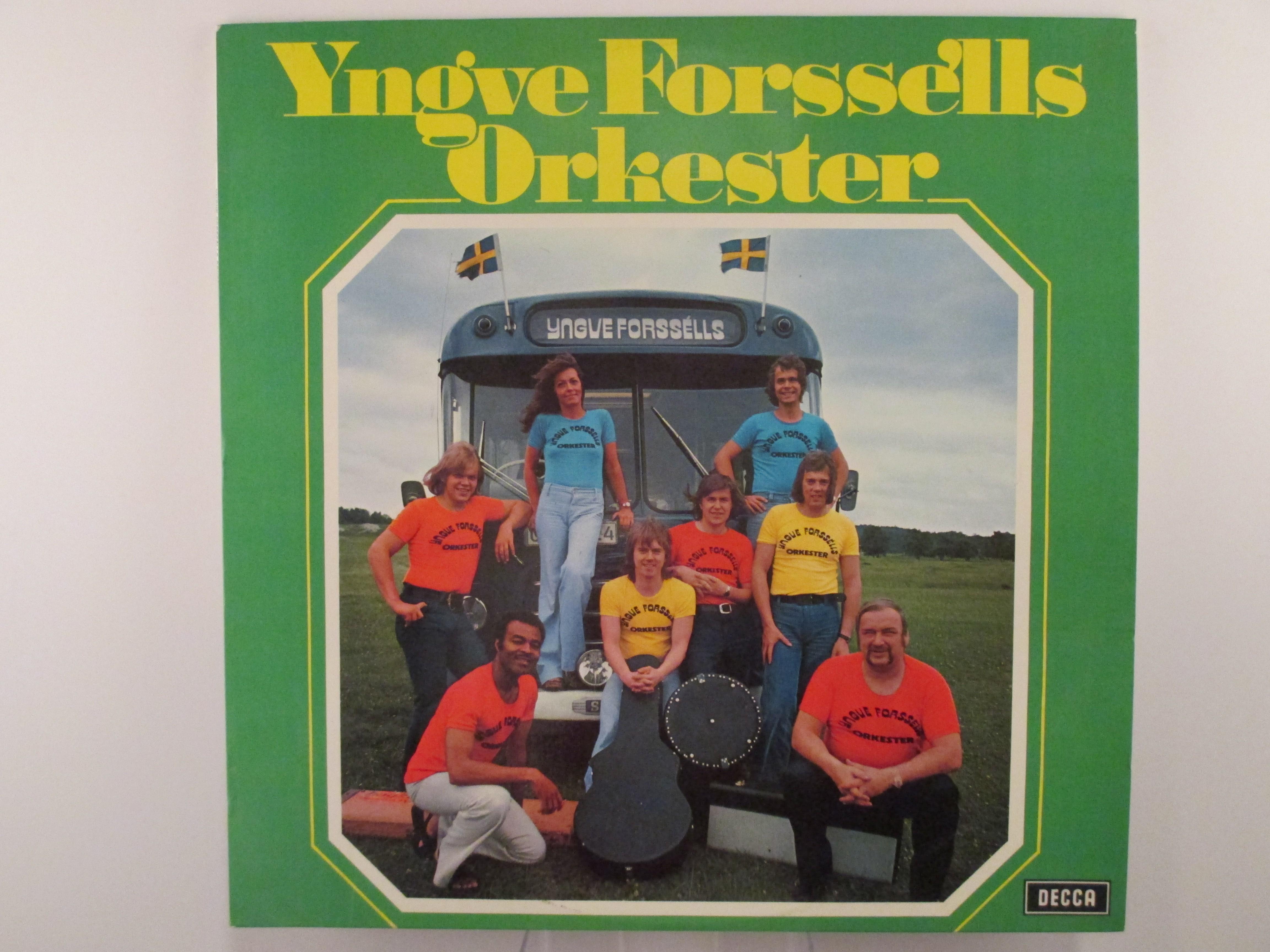 """YNGVE FORSSELLS ORKESTER med ELISABETH LUNDBERG : """"Yngve Forssells orkester"""""""