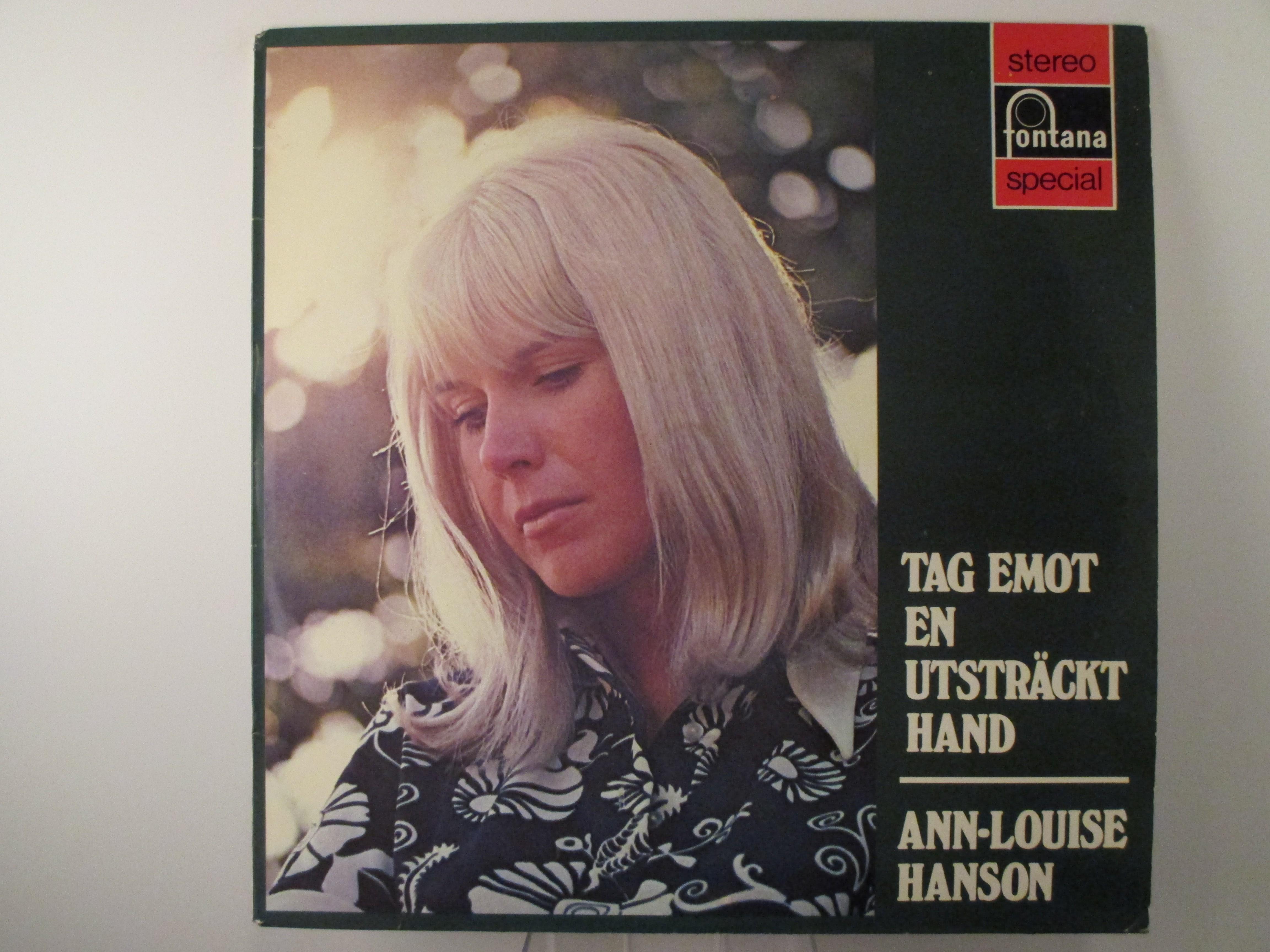 "ANN-LOUISE HANSON : ""Tag emot en utsträckt hand"""