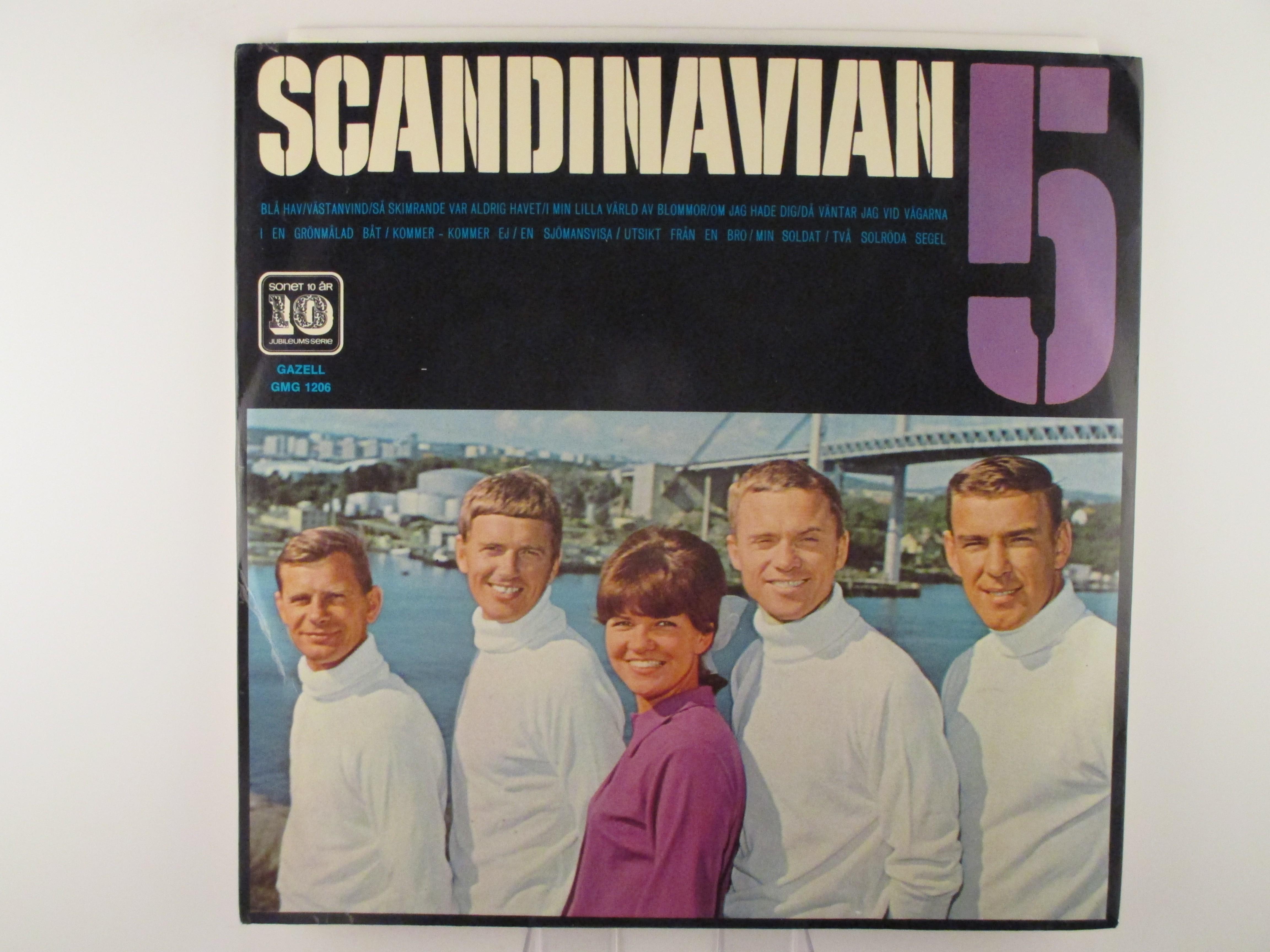 """Agneta Munther &  SCANDINAVIAN 5 :  """"Scandinavian 5"""""""