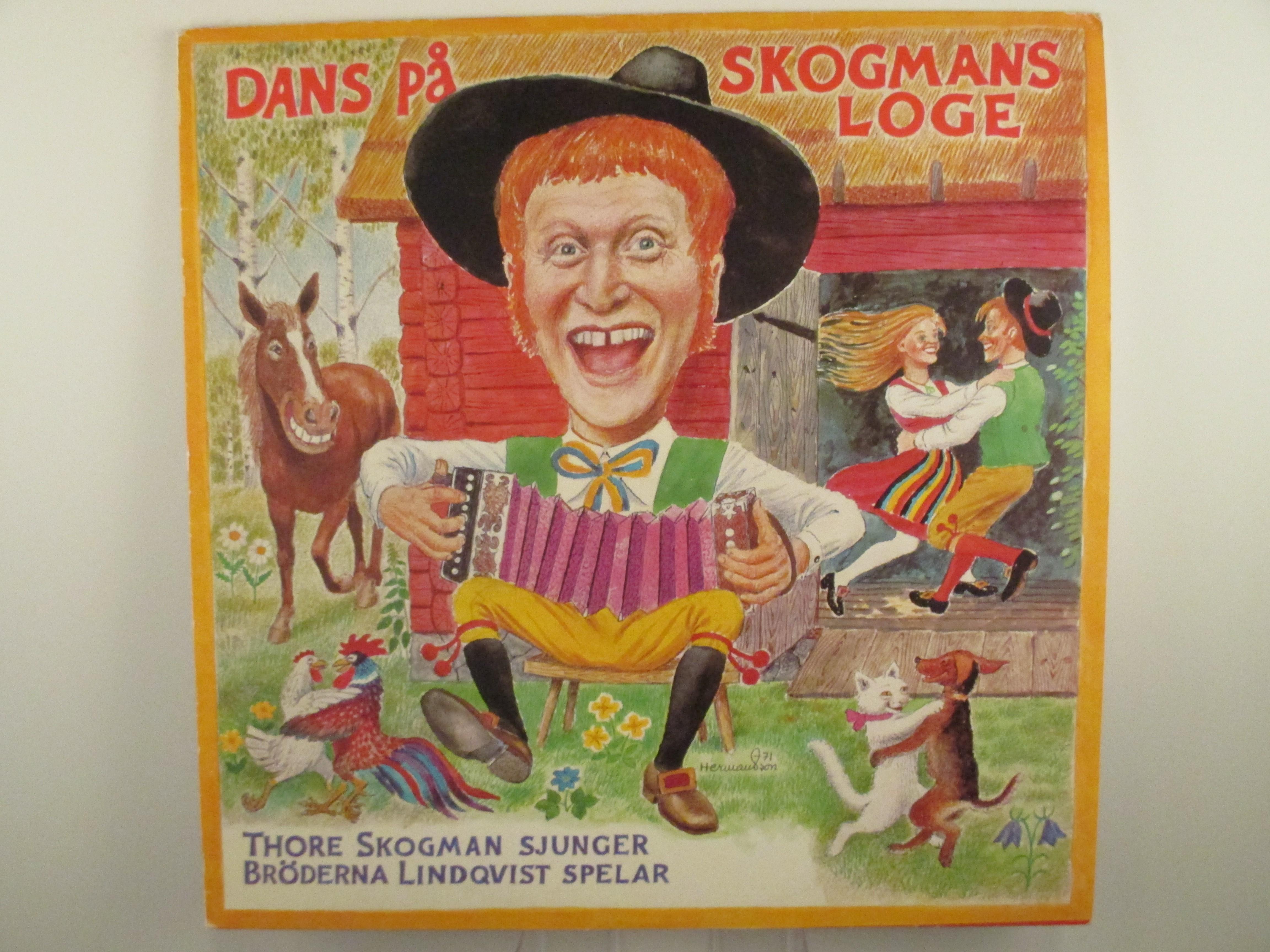 "THORE SKOGMAN : ""Dans på Skogmans loge"""