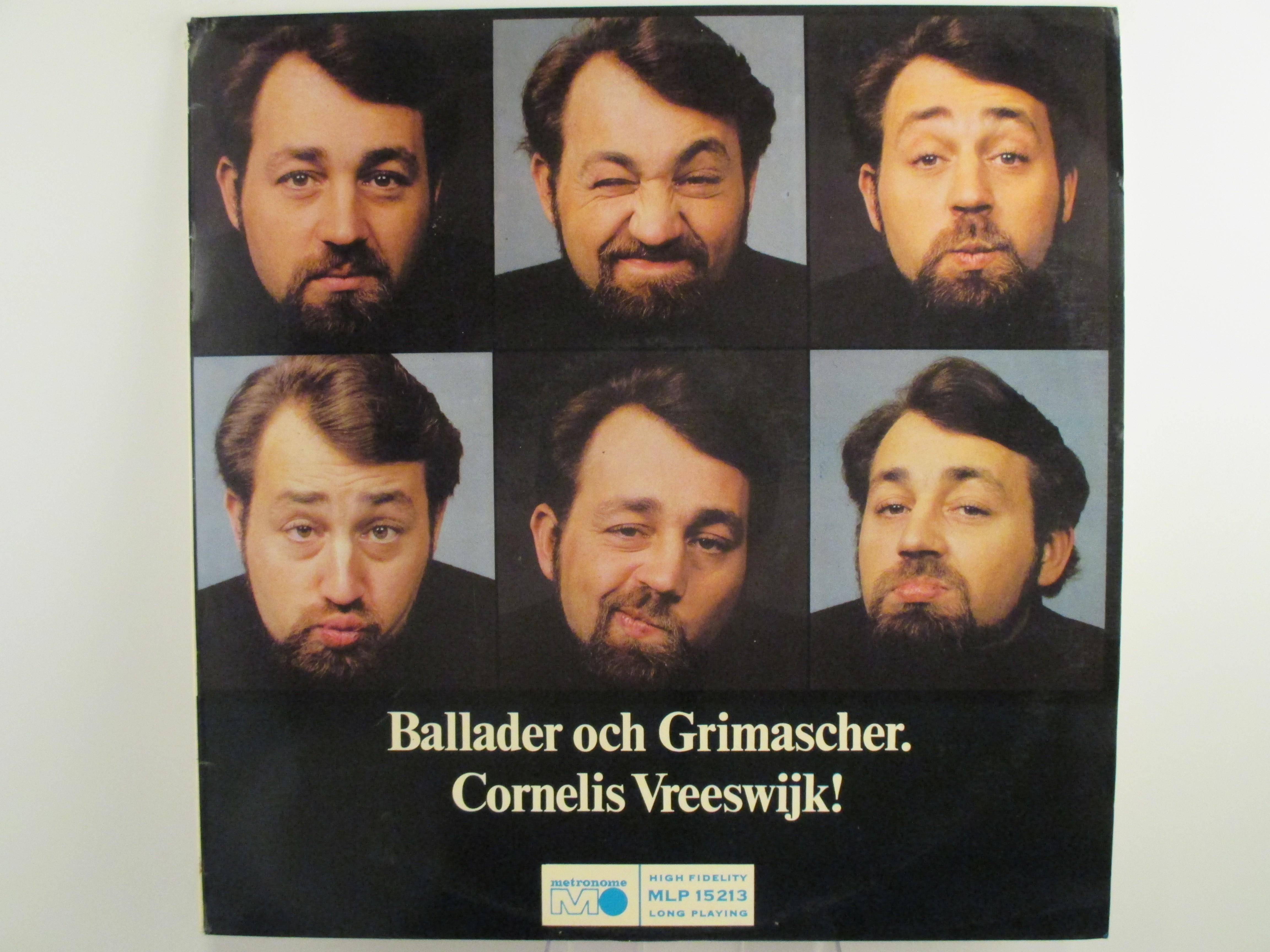 """CORNELIS VREESWIJK : """"Ballader och grimascher"""""""